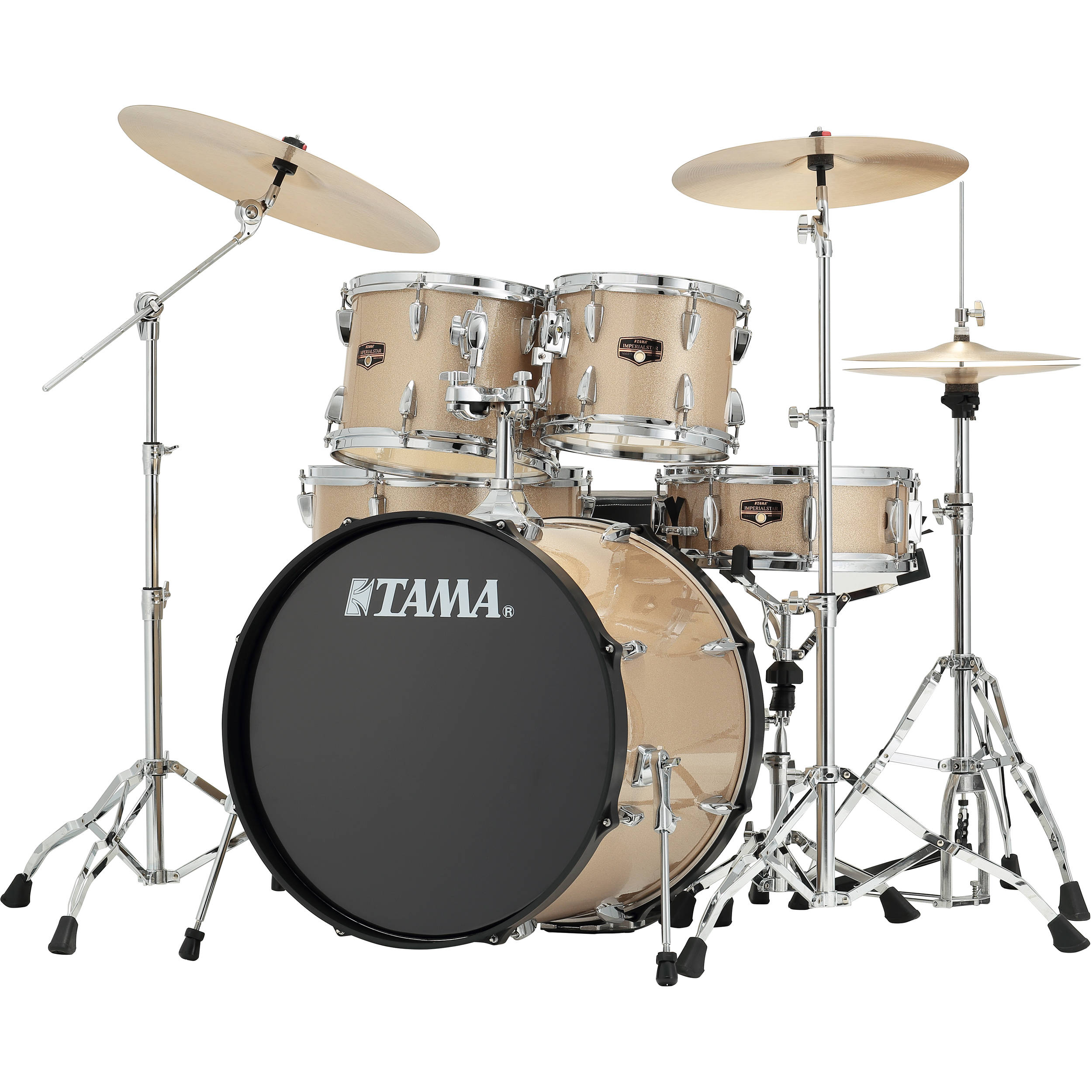 tama ip52cchm imperialstar 5 piece drum set ip52ncchm b h photo. Black Bedroom Furniture Sets. Home Design Ideas