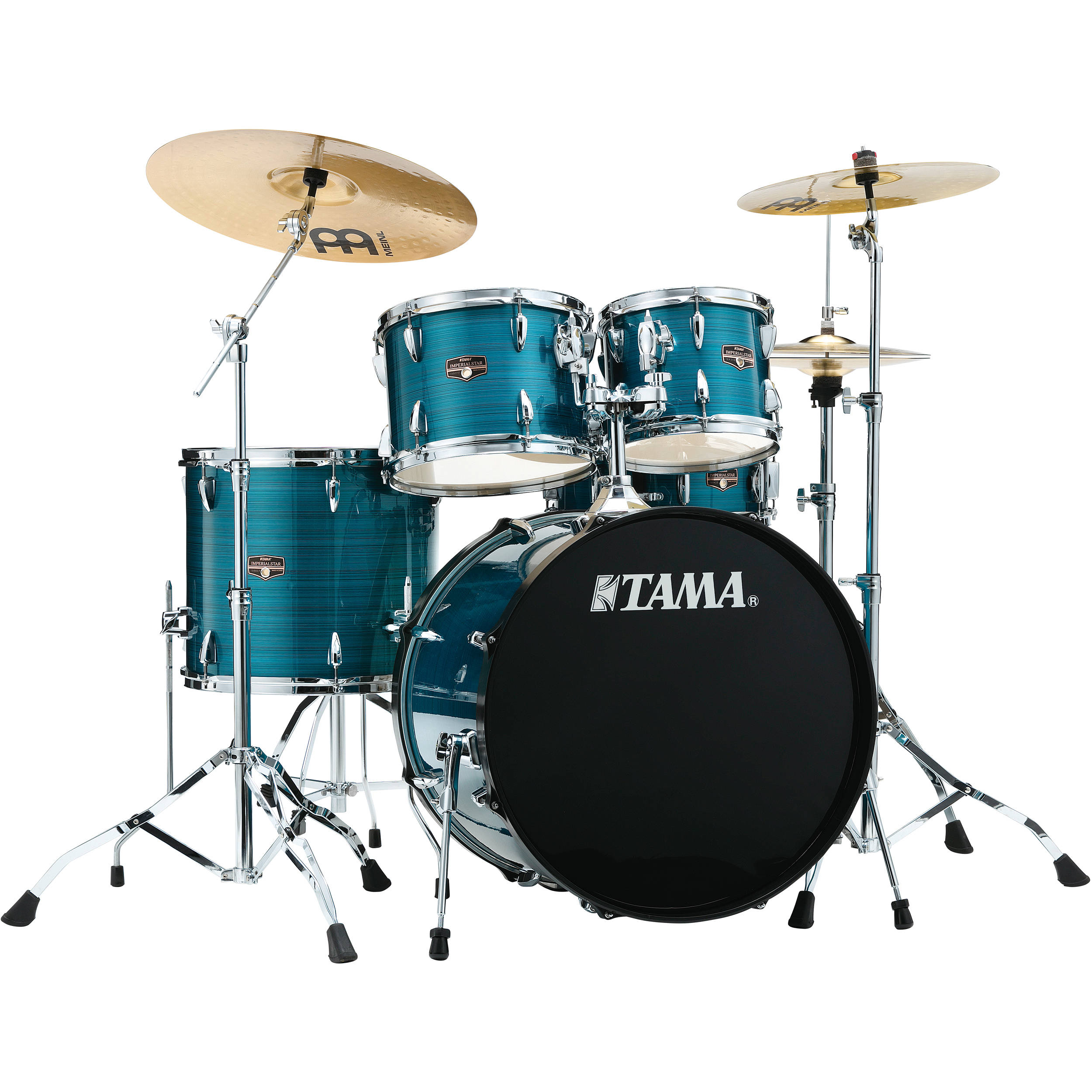 tama ip52chlb imperialstar 5 piece drum set ip52nchlb b h photo. Black Bedroom Furniture Sets. Home Design Ideas