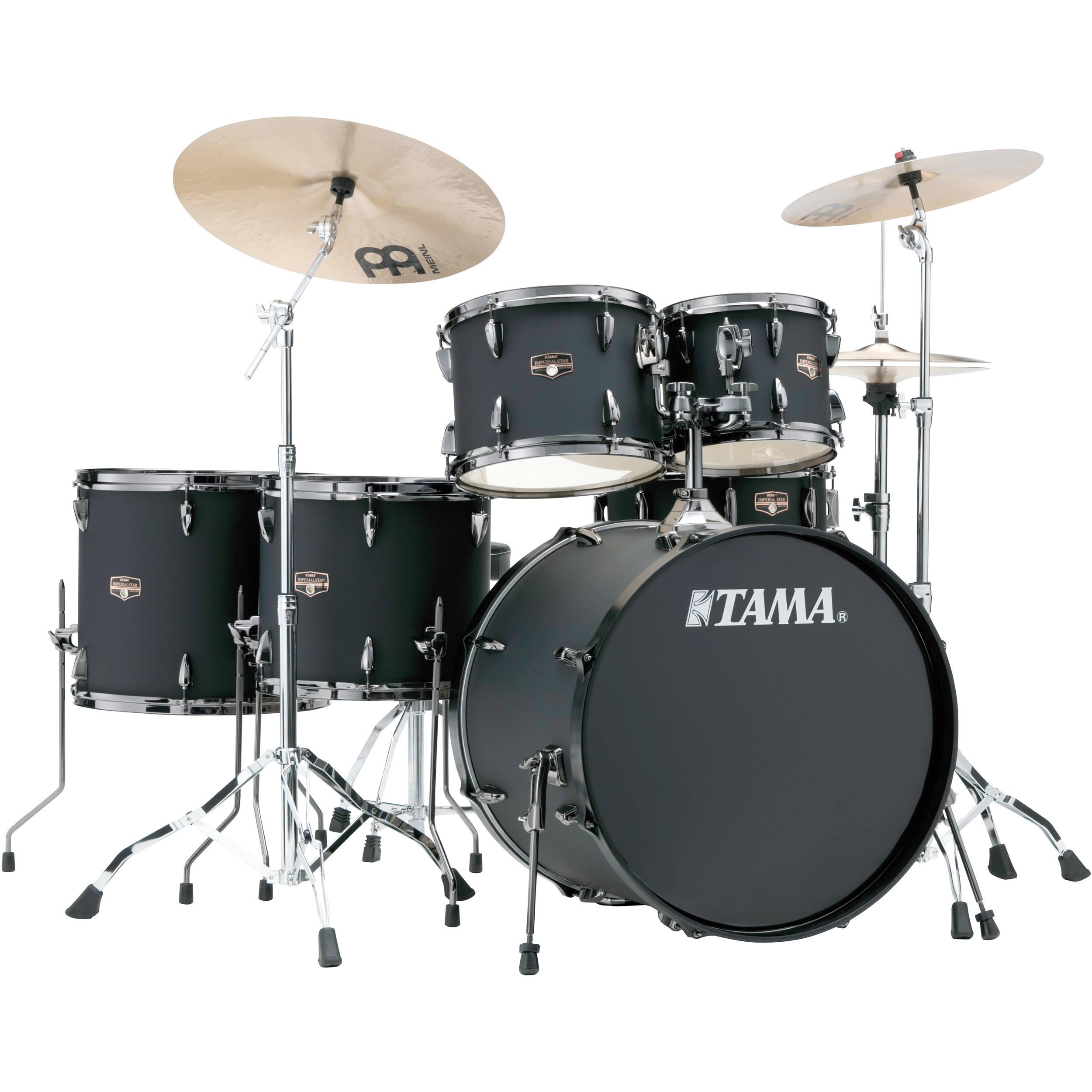 ae73c0876feb TAMA IP62NBCBOB Imperialstar 6-Piece Drum Set with Cymbals (22