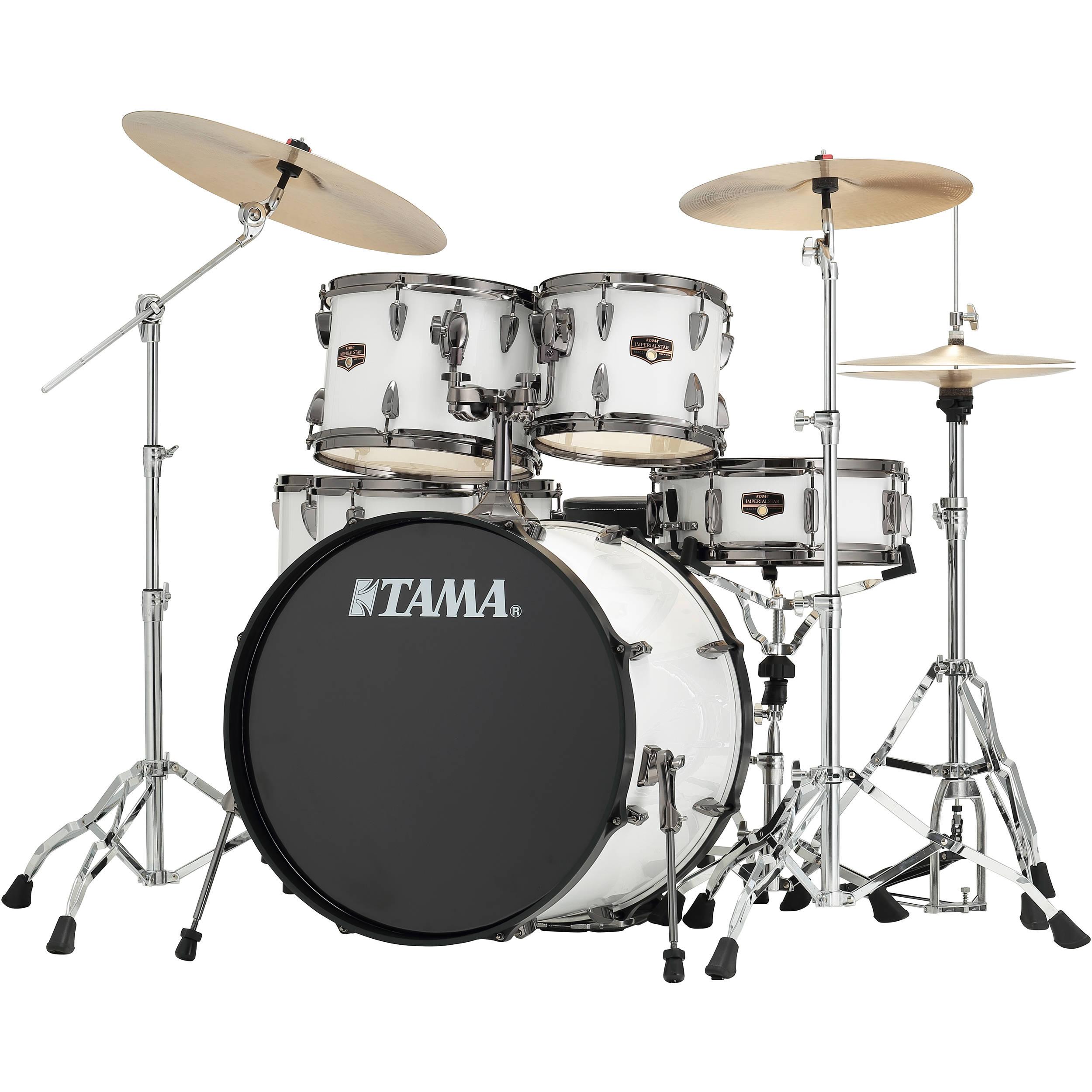 tama ip62nbcsgw imperialstar 6 piece drum set ip62nbcsgw b h. Black Bedroom Furniture Sets. Home Design Ideas