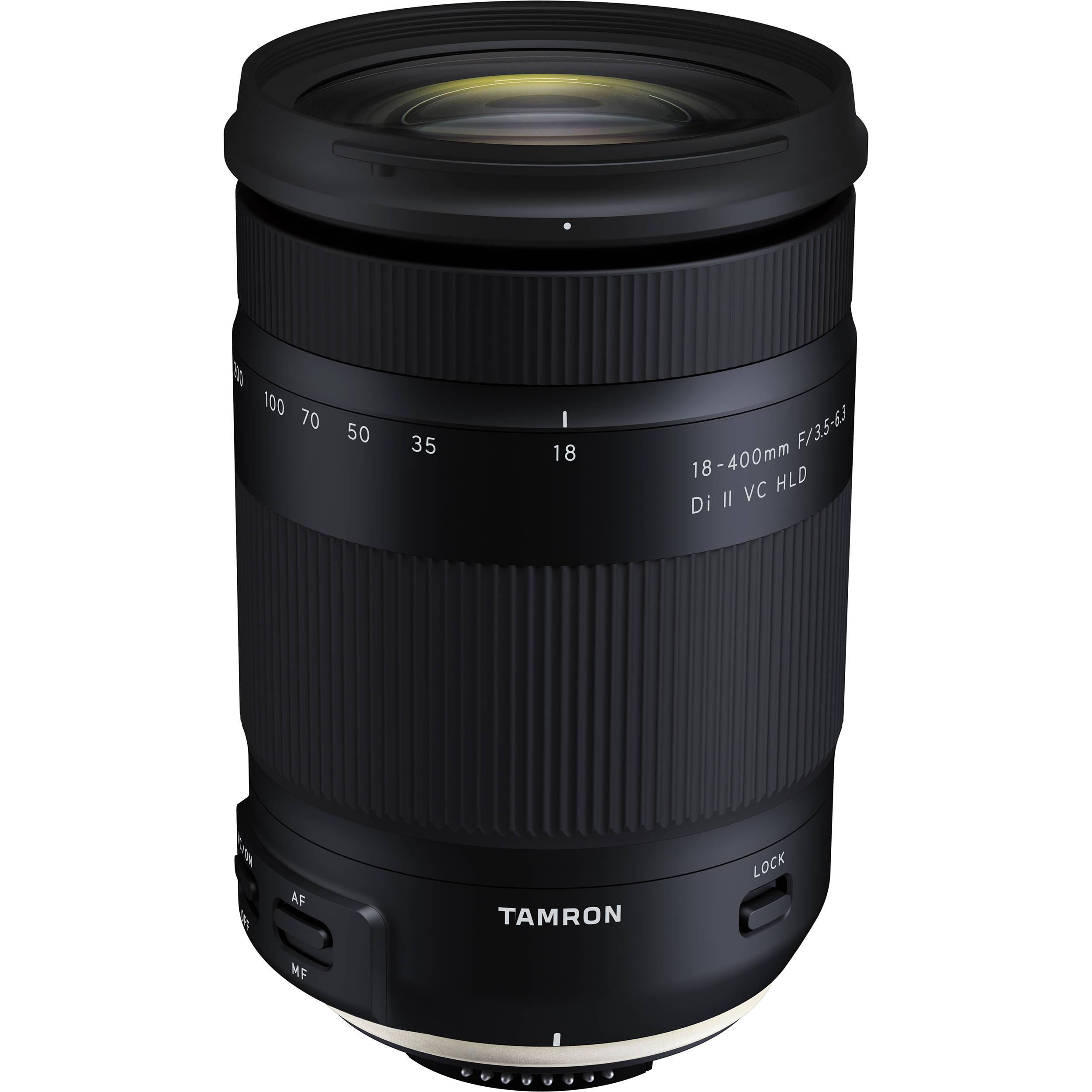 9bb726c009 Tamron 18-400mm f/3.5-6.3 Di II VC HLD Lens AFB028C-700 B&H