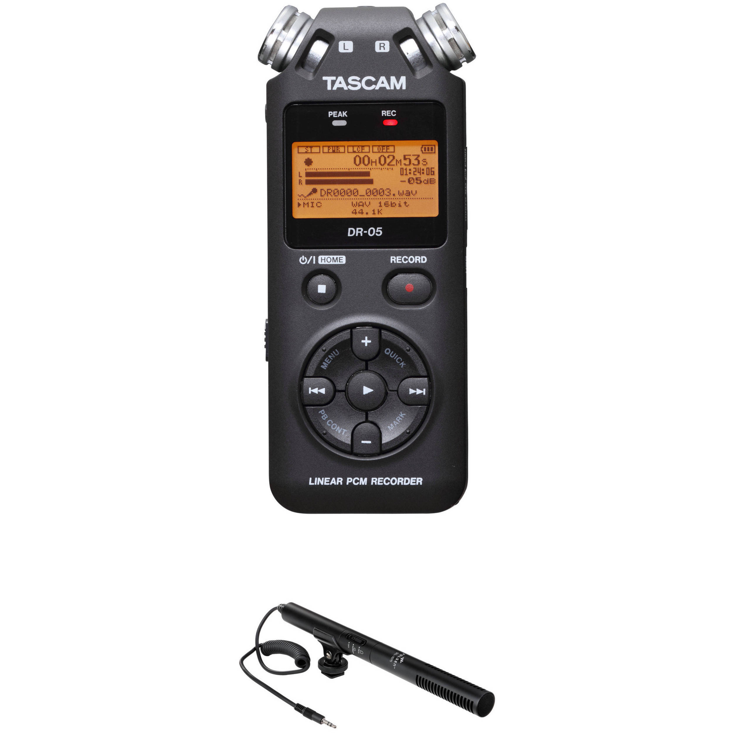 Image result for zoom sound recorder and shotgun microphone