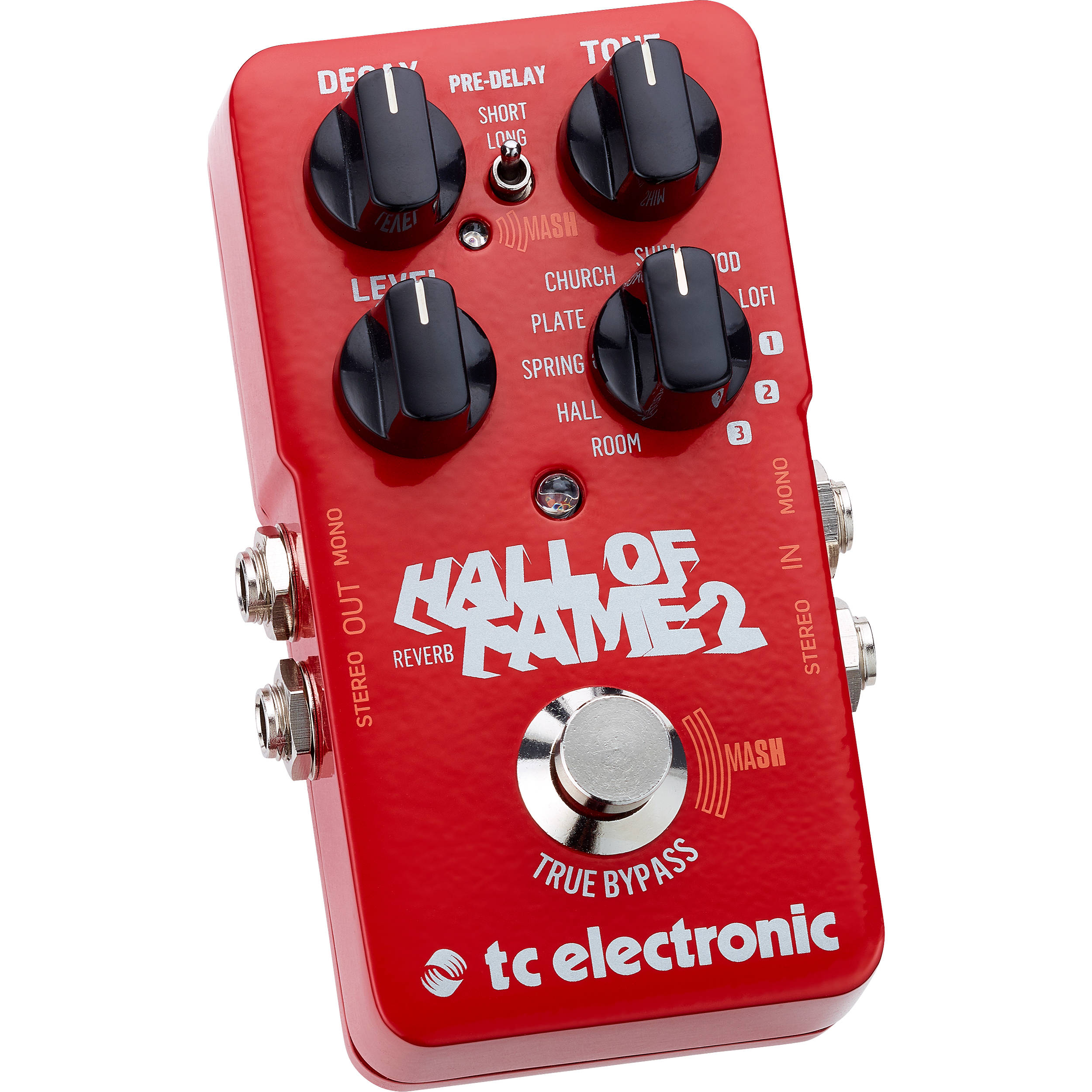 Tc Electronic Hall Of Fame 2 Reverb Pedal For Electric