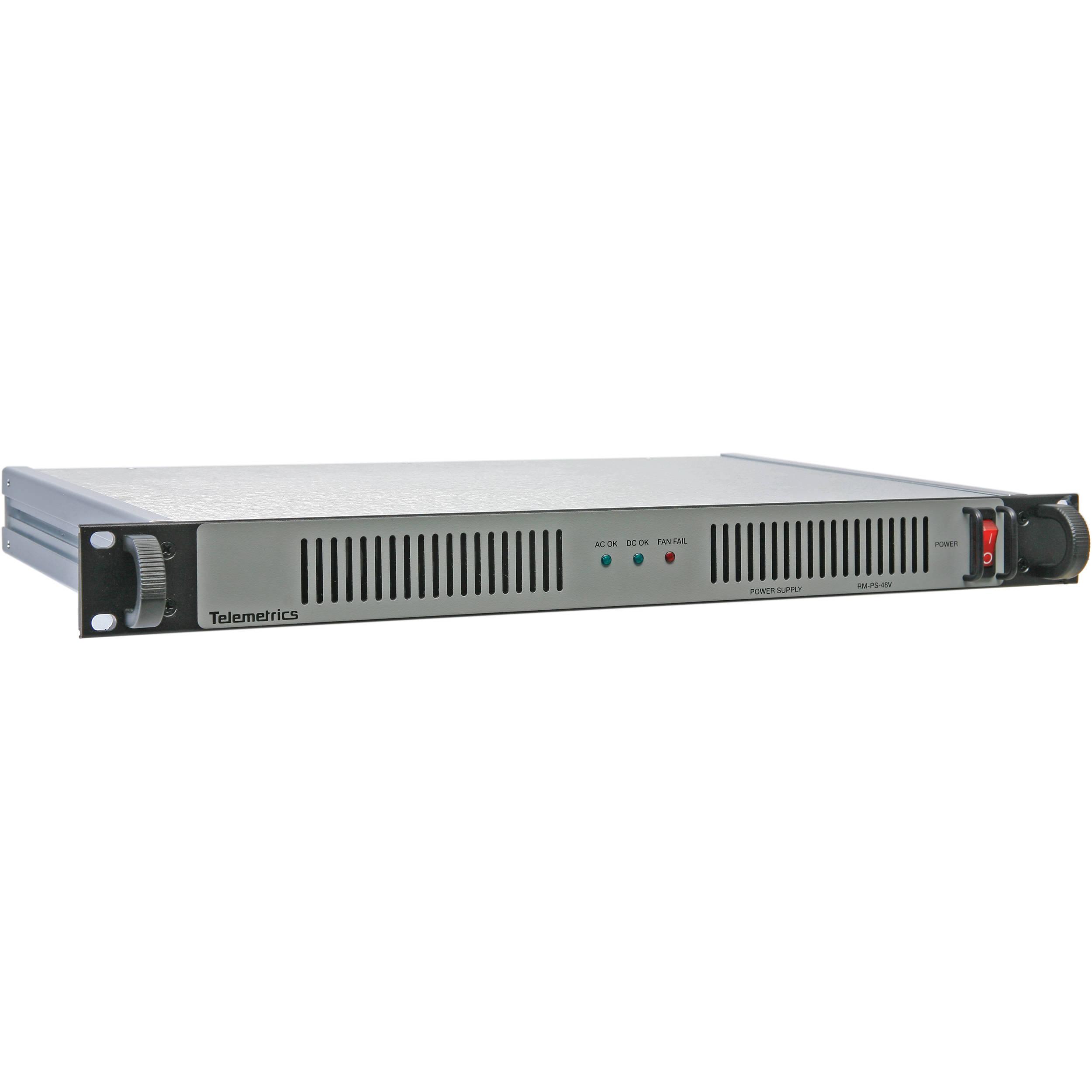 Telemetrics PS-RM-48-2 Rackmount Power Supply (48V) PS-RM-48-2