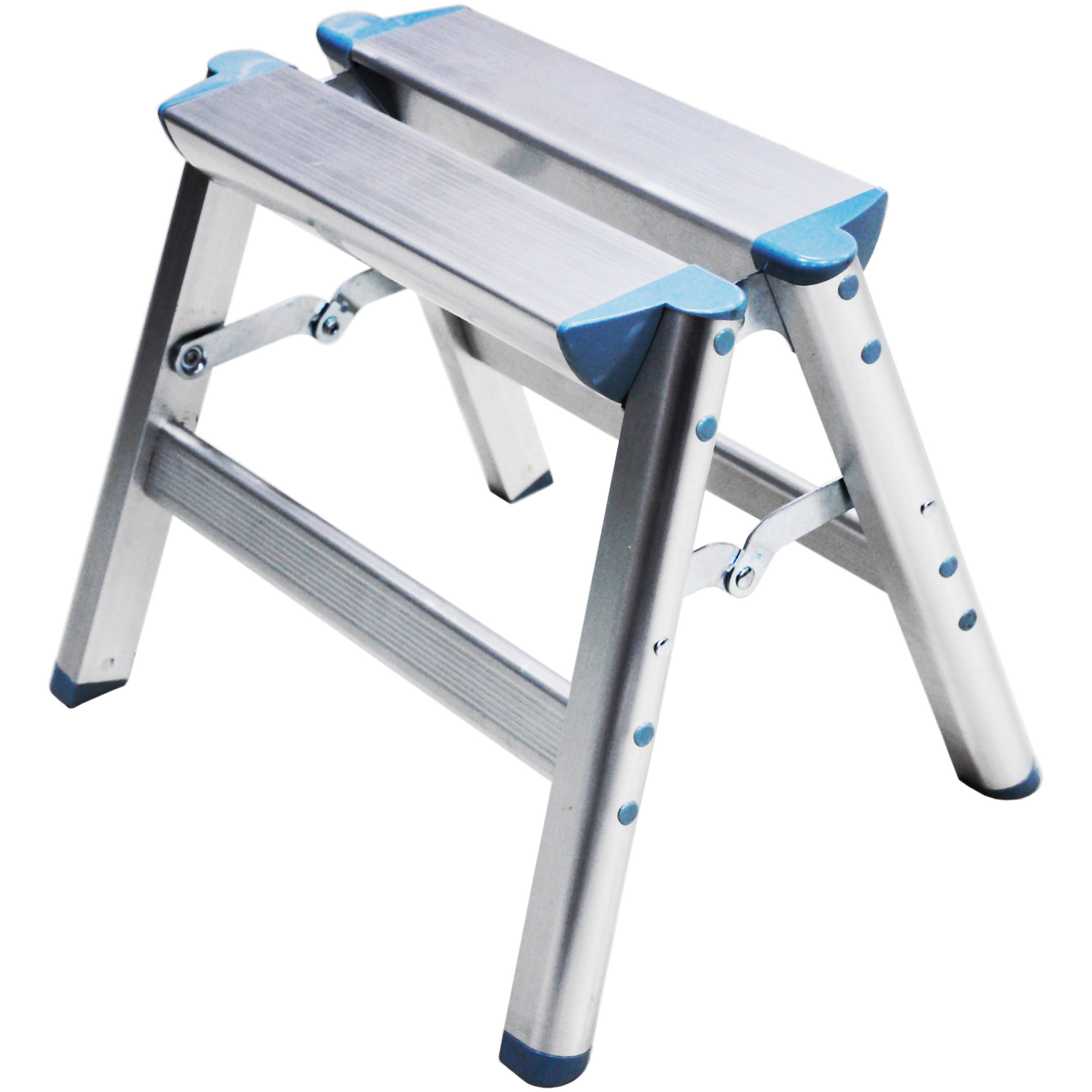Telesteps Folding Aluminum Step Ladder 1 100ss B Amp H Photo