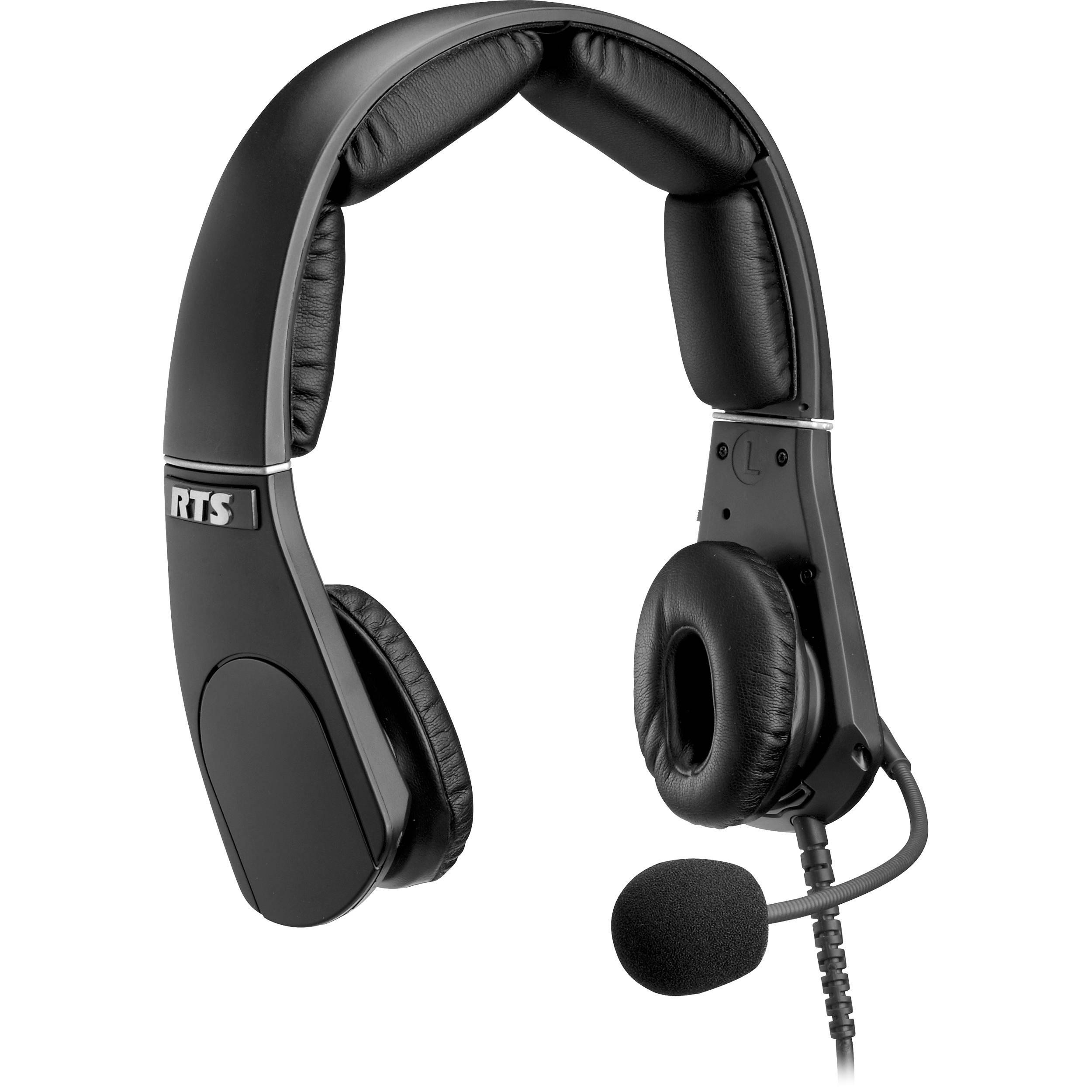 Telex MH-302 Dual-Sided Headset with 4-Pin XLR F.01U.149.686 B&H