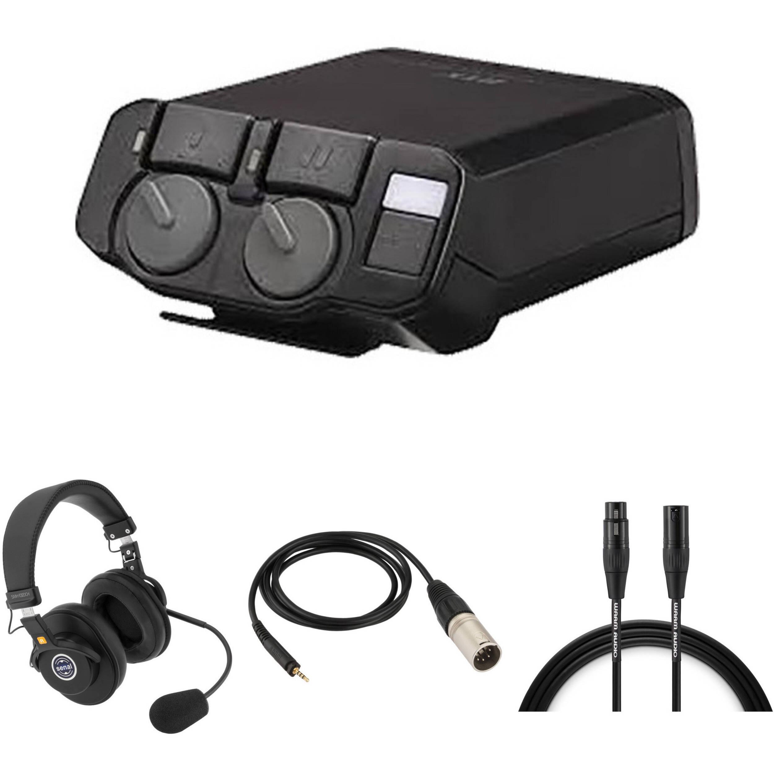 Telex RTS 2-Channel Portable Beltpack Communications Kit B&H