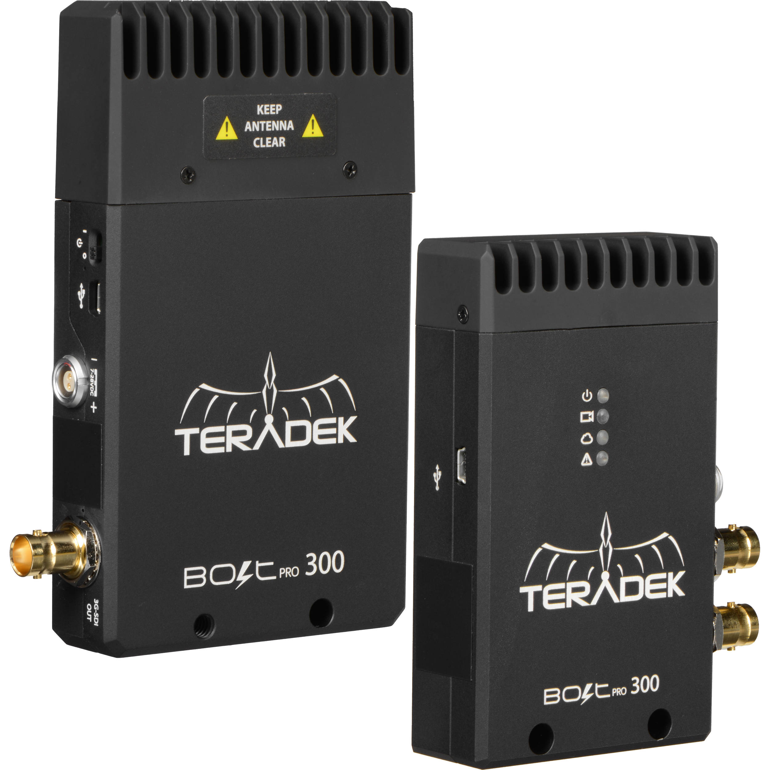 Wireless Transmitters And Receivers: Teradek Bolt Pro 300 3G-SDI Wireless 10-0920 B&H Photo Video