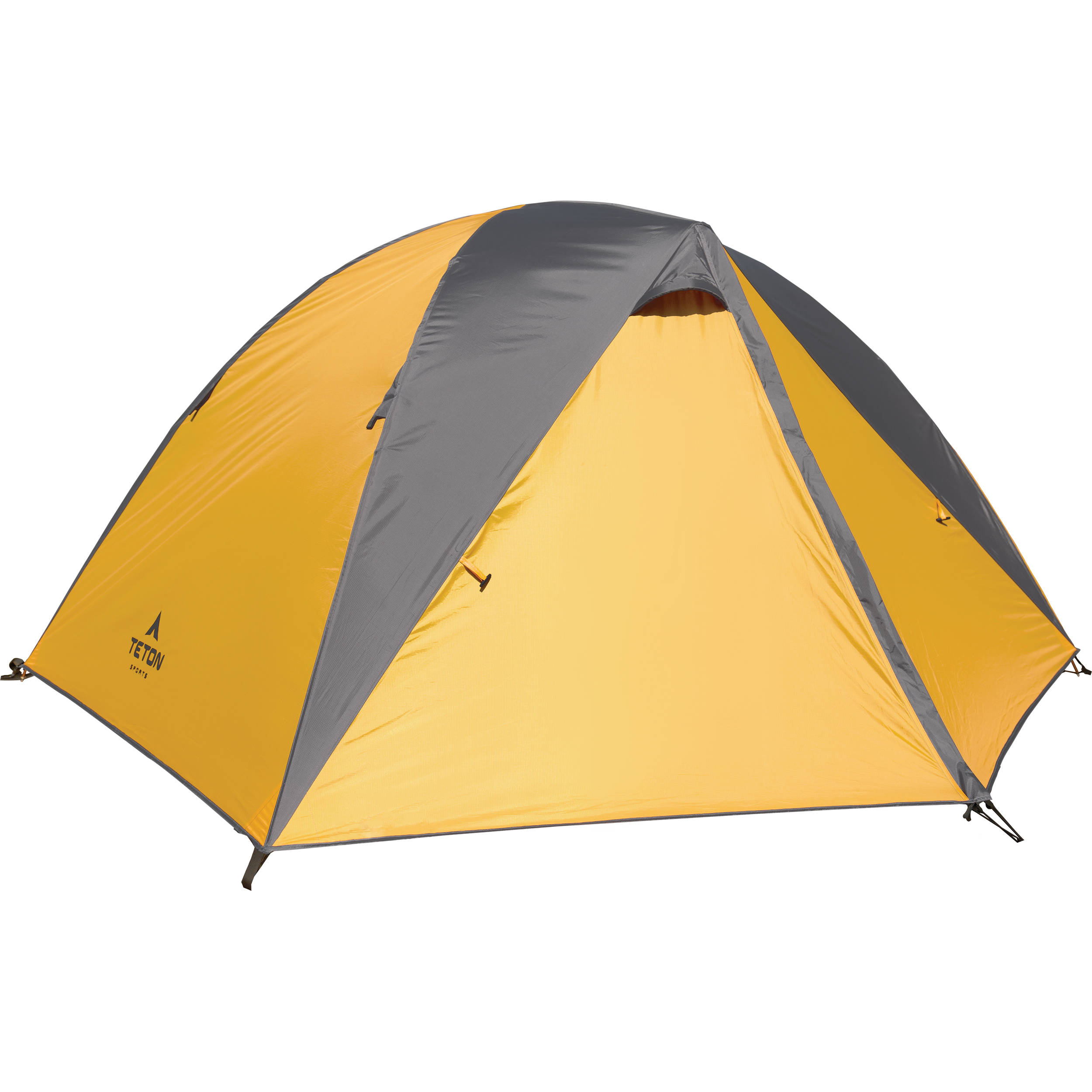 TETON Sports Mountain Ultra 2 Backpacking Tent (Orange/Gray)  sc 1 st  Bu0026H & Sports Mountain Ultra 2 Backpacking Tent (Orange/Gray)