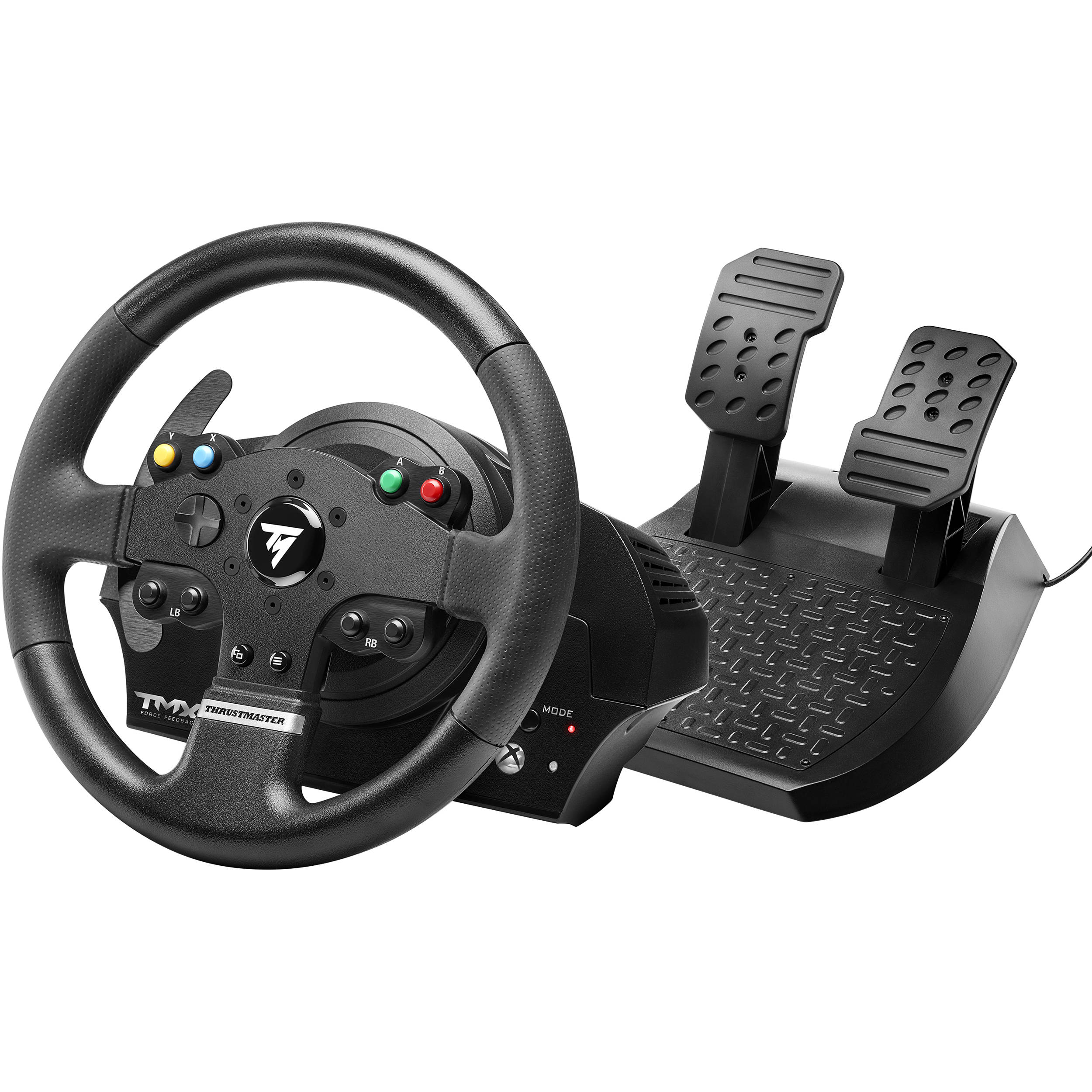thrustmaster tmx force feedback racing wheel 4469022 b h photo. Black Bedroom Furniture Sets. Home Design Ideas