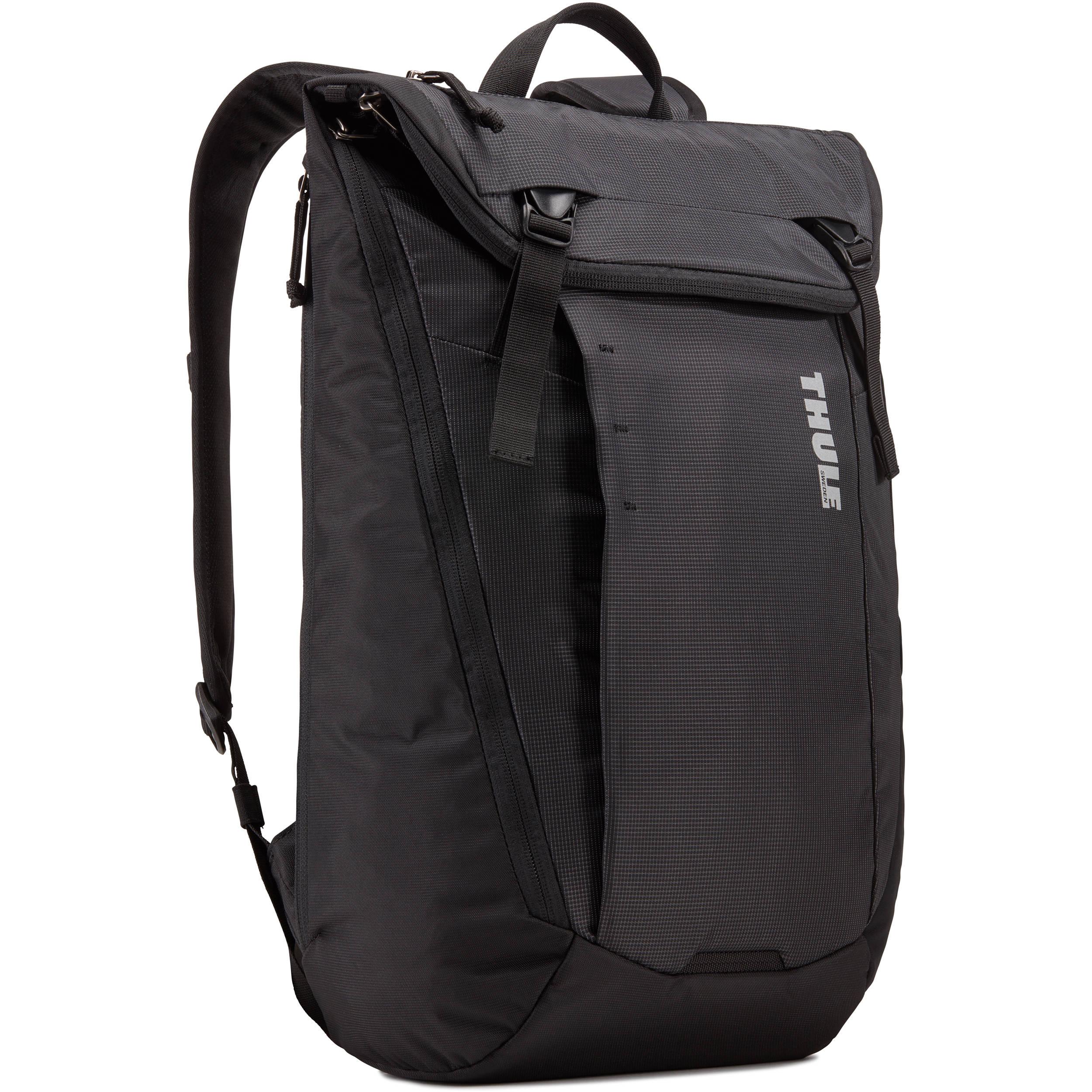 6302561b8d81 Thule EnRoute 20L Backpack (Black) 3203591 B H Photo Video