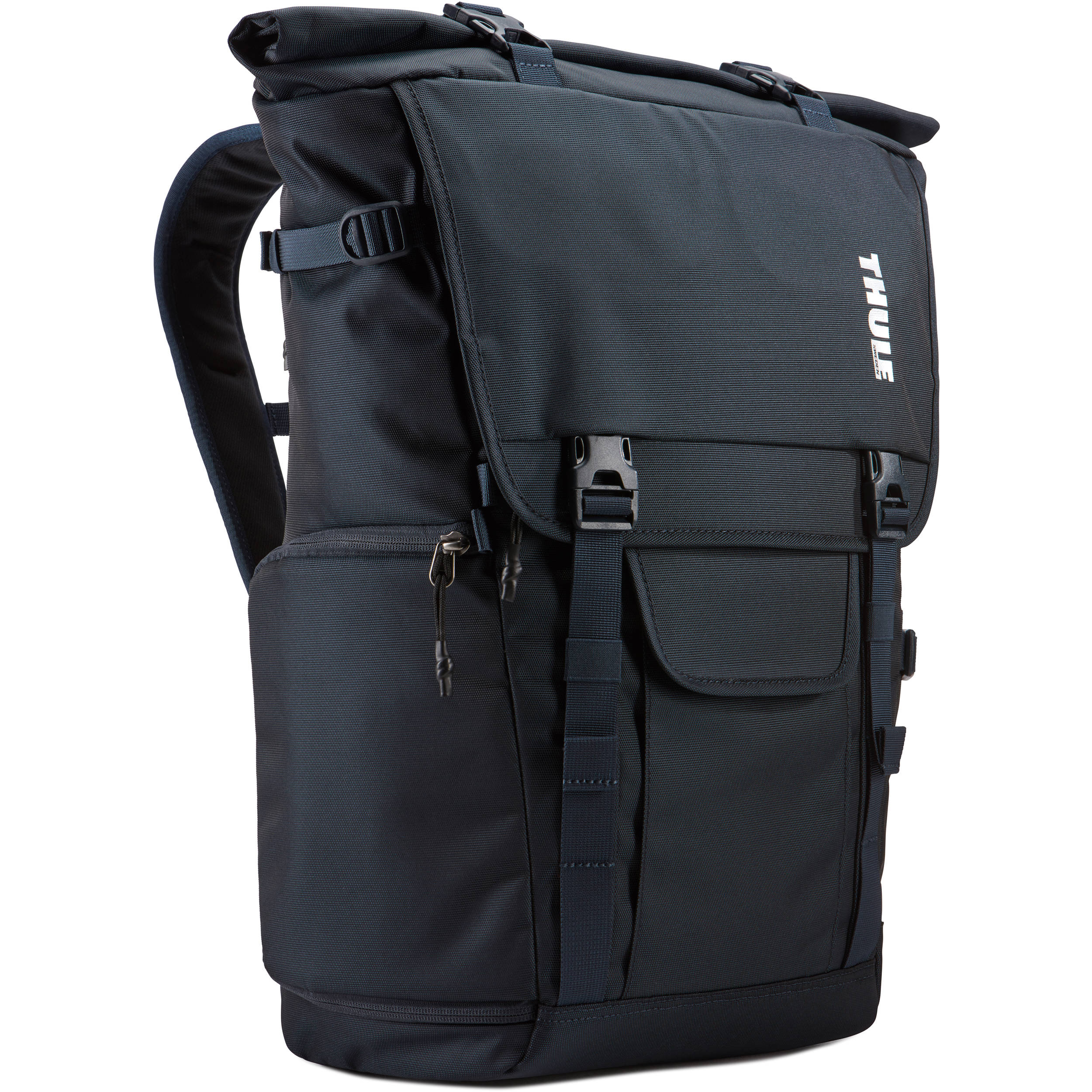 cc437beb26e0 Thule Covert DSLR Rolltop Backpack (Mineral) 3203626 B H Photo