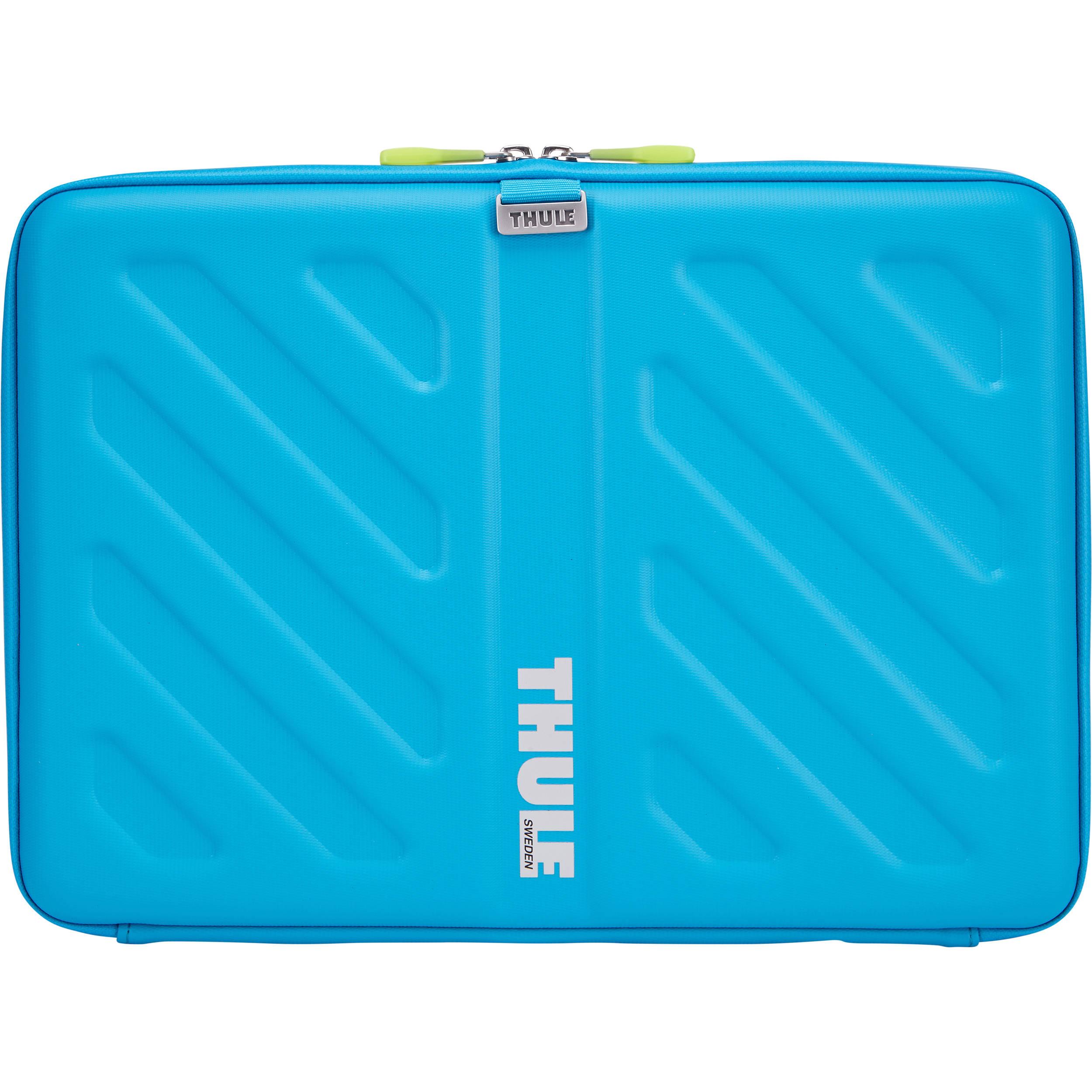 thule gauntlet 13 macbook pro sleeve blue tas113blu b amp h
