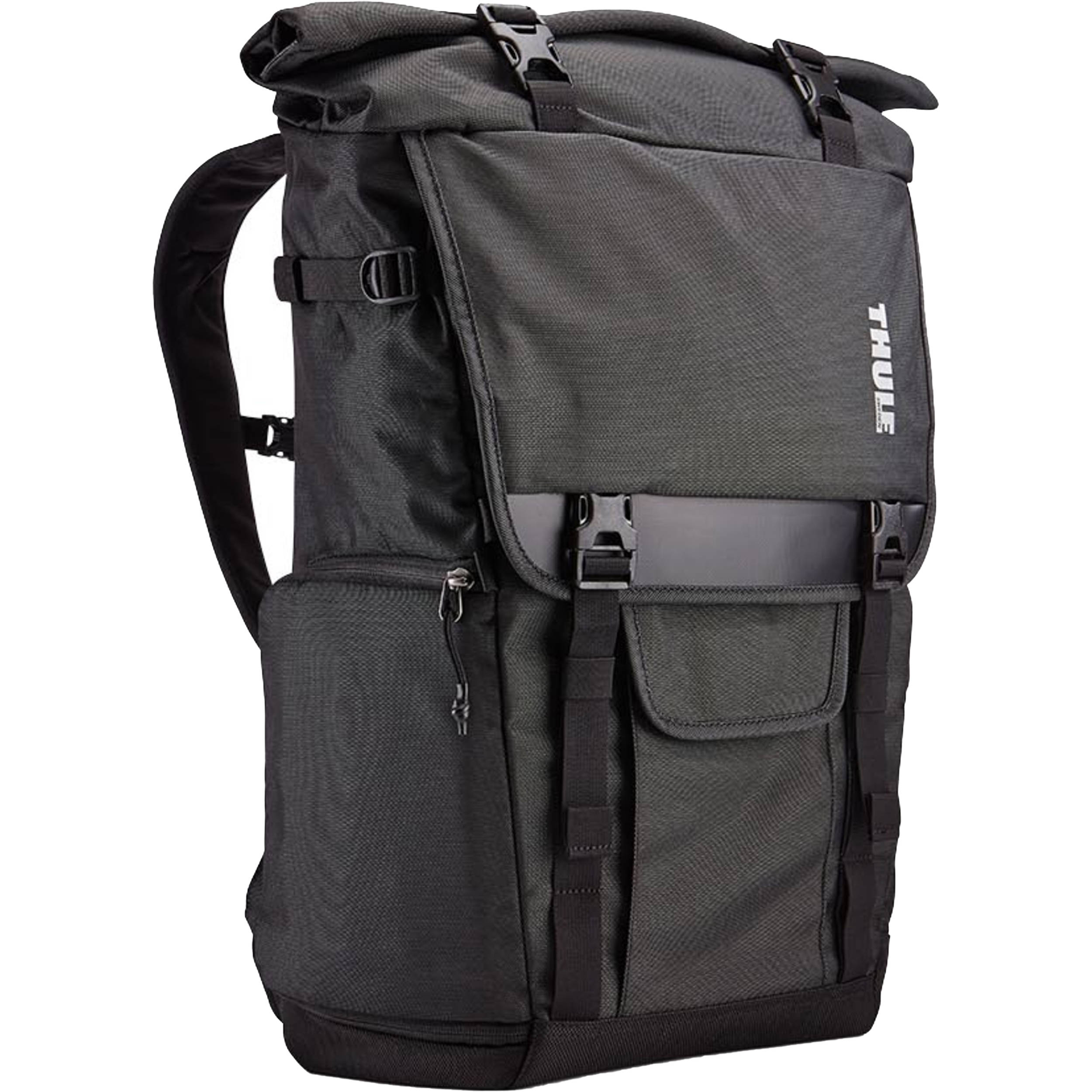 thule covert dslr rolltop backpack 3201963 b h photo video. Black Bedroom Furniture Sets. Home Design Ideas