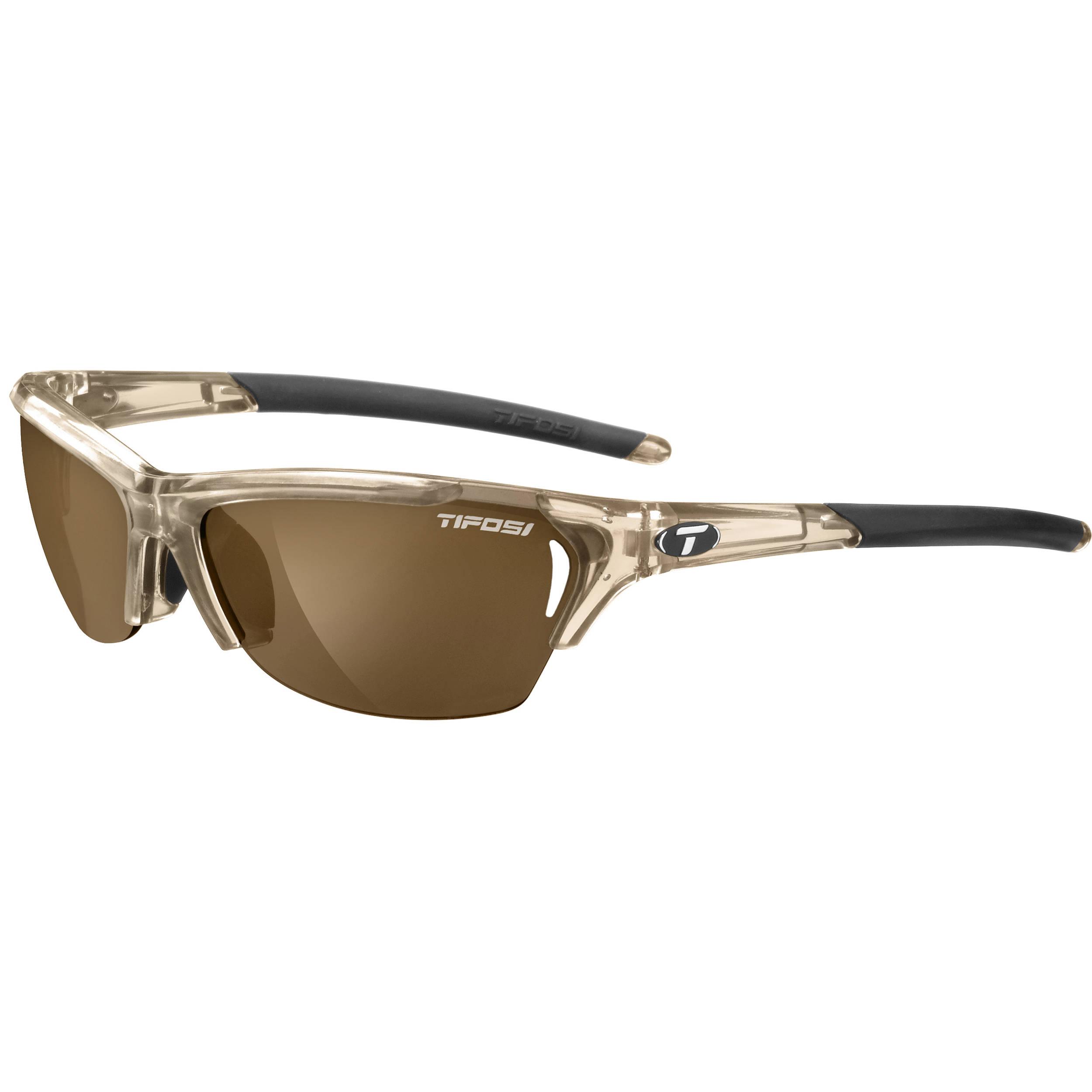 7080f45f01 Tifosi Radius Sunglasses (Crystal Brown Frames Brown Polarized Fototec  Lenses)