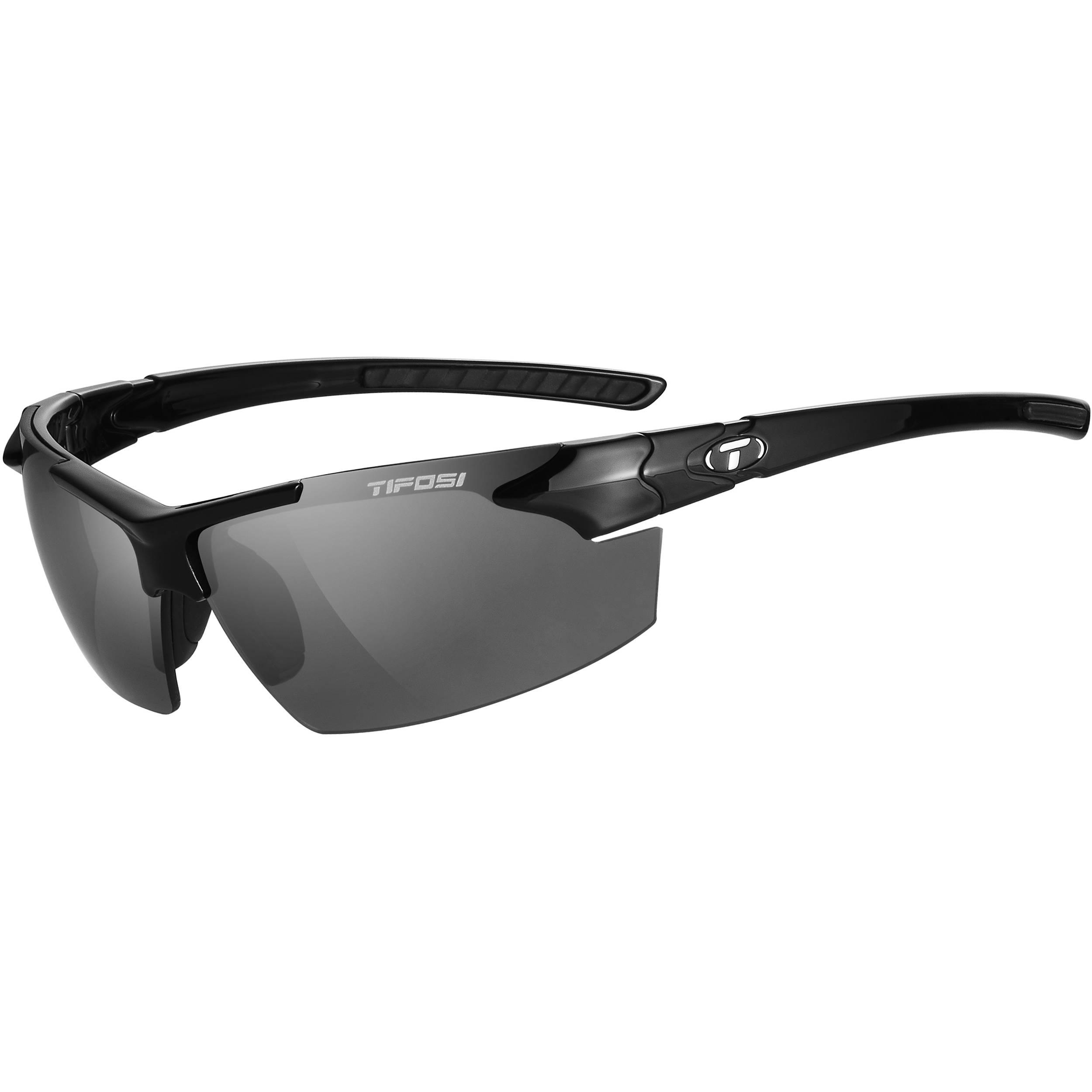 f5f1f4c3eb Tifosi Jet FC Sunglasses (Gloss Black Frames - Smoke Lenses)