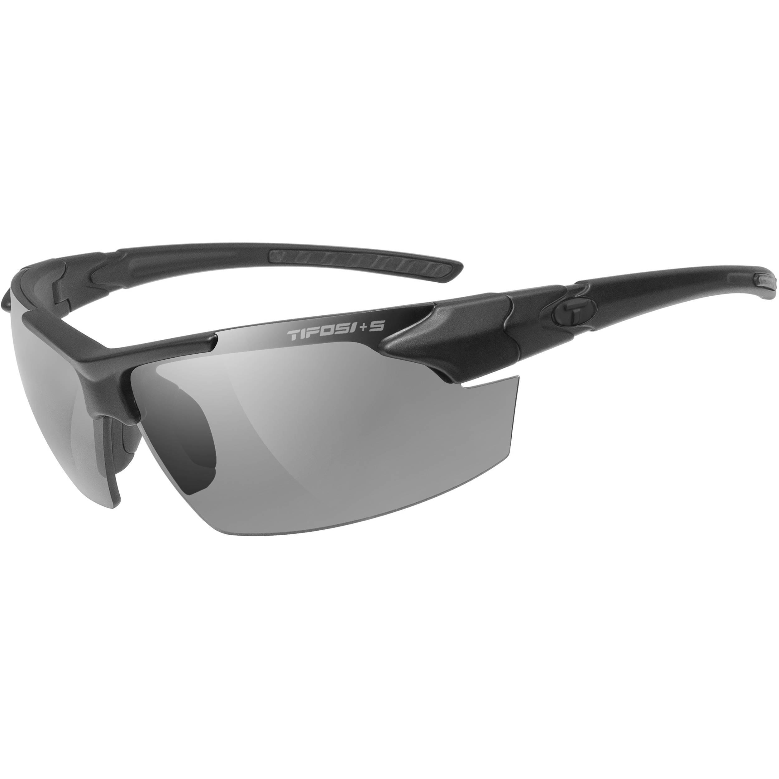 Tifosi Optics Tifosi Z87.1 Jet FC Matte Black Tactical Sunglasses - Clear ViupHpk