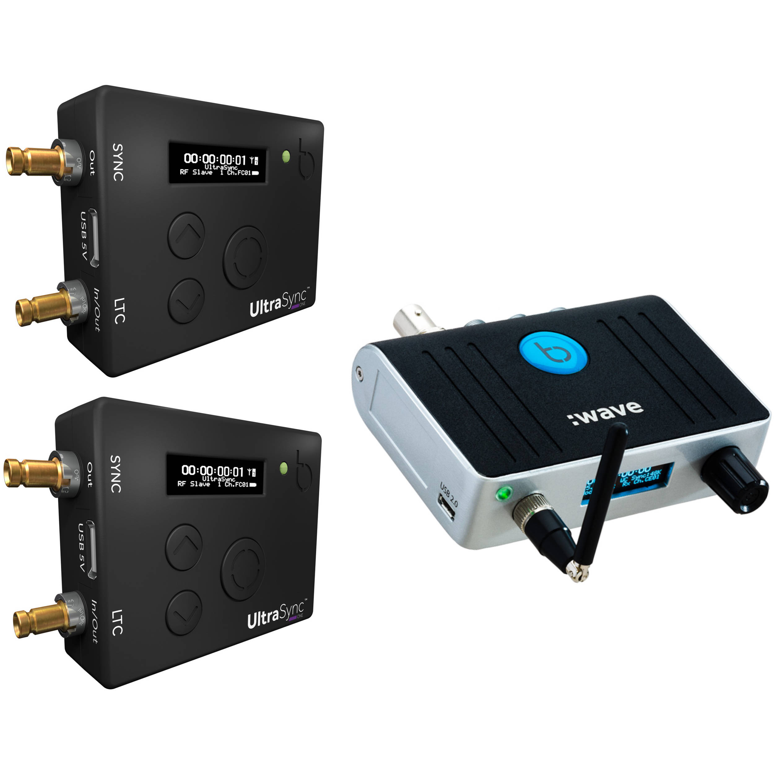 Timecode Systems Wave Generator With  TCBWAVEUSONEBUNDLE BH - Us address and zip code generator