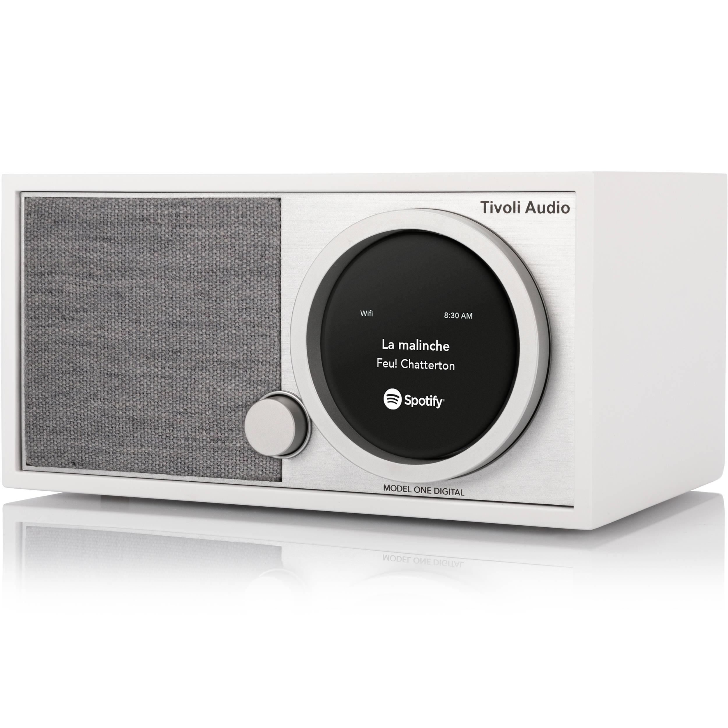 tivoli art collection model one digital radio white gray. Black Bedroom Furniture Sets. Home Design Ideas
