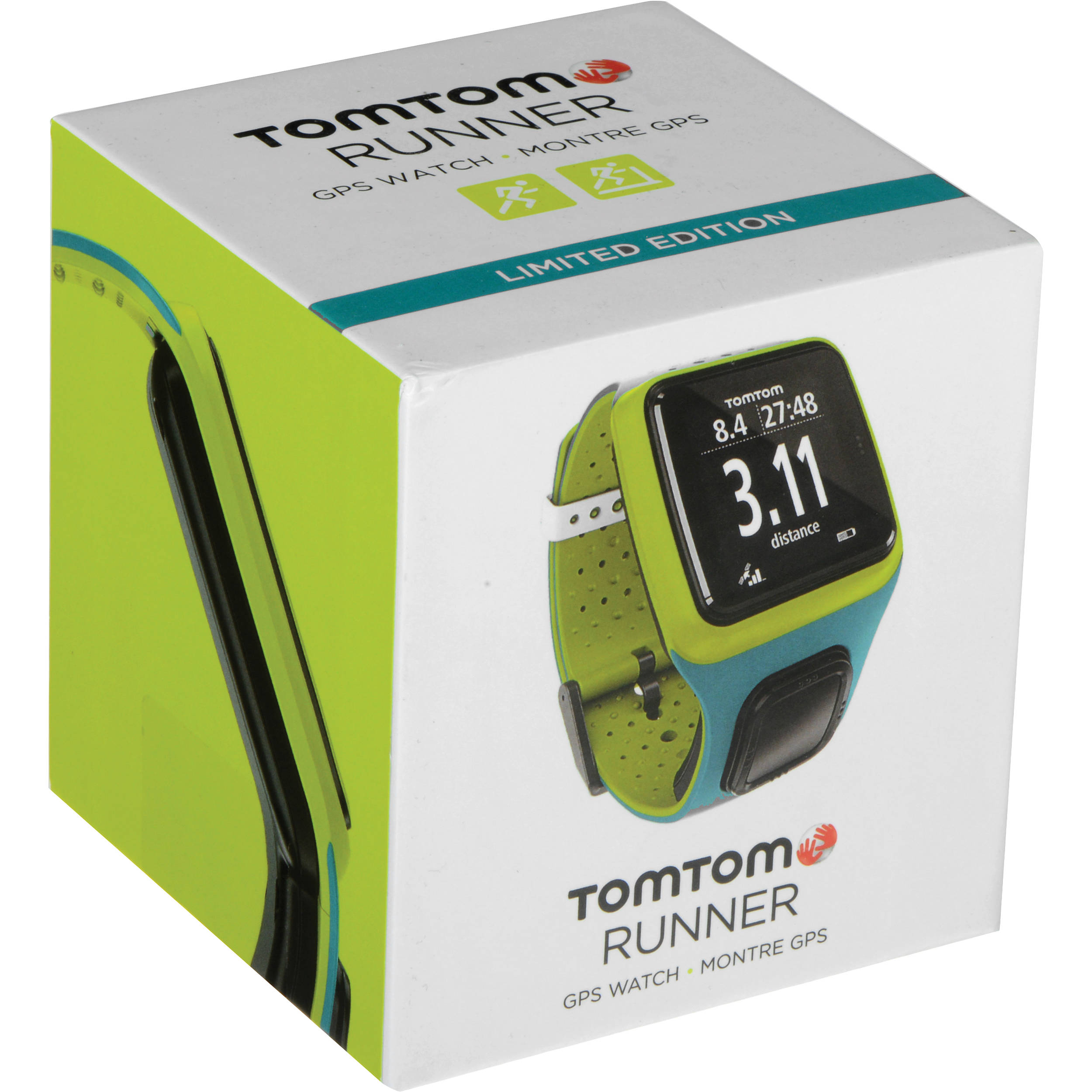 tomtom runner limited edition gps sports watch b h. Black Bedroom Furniture Sets. Home Design Ideas