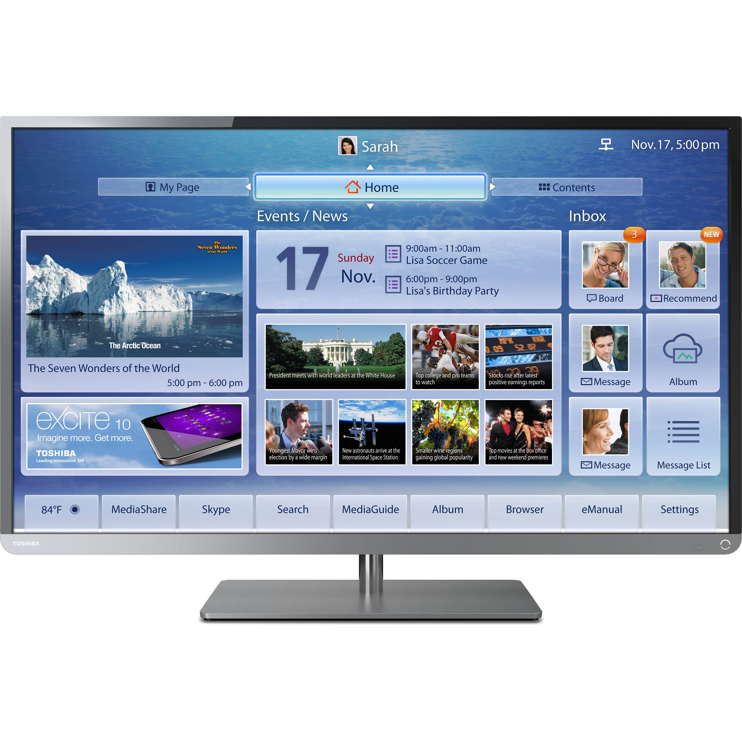 toshiba 39l4300u 39 class 1080p cloud led tv 39l4300u b h rh bhphotovideo com toshiba 39l4300 manual toshiba 39l4300 manual