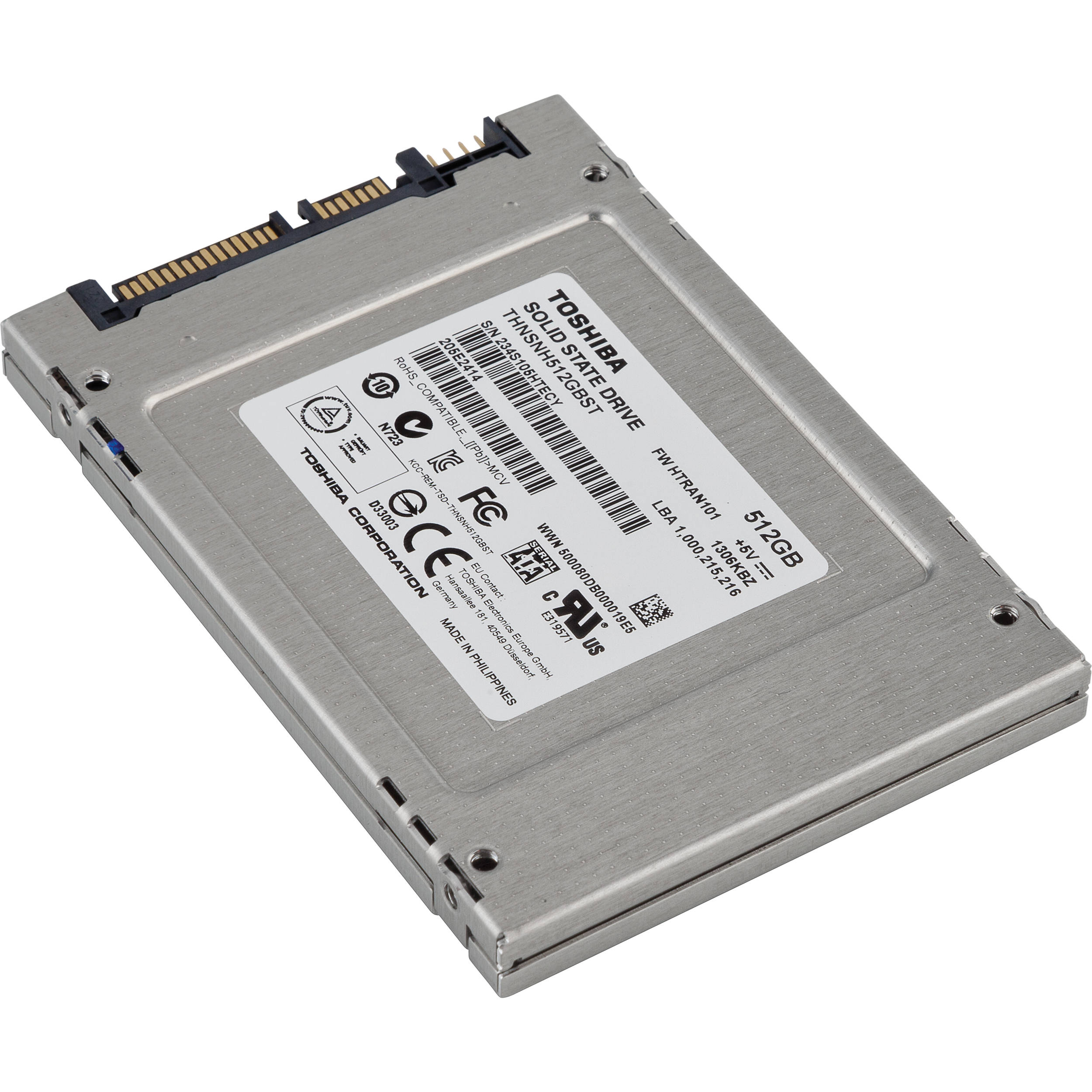 Toshiba 512GB Q Series Internal Solid State Drive HDTS251XZSTA