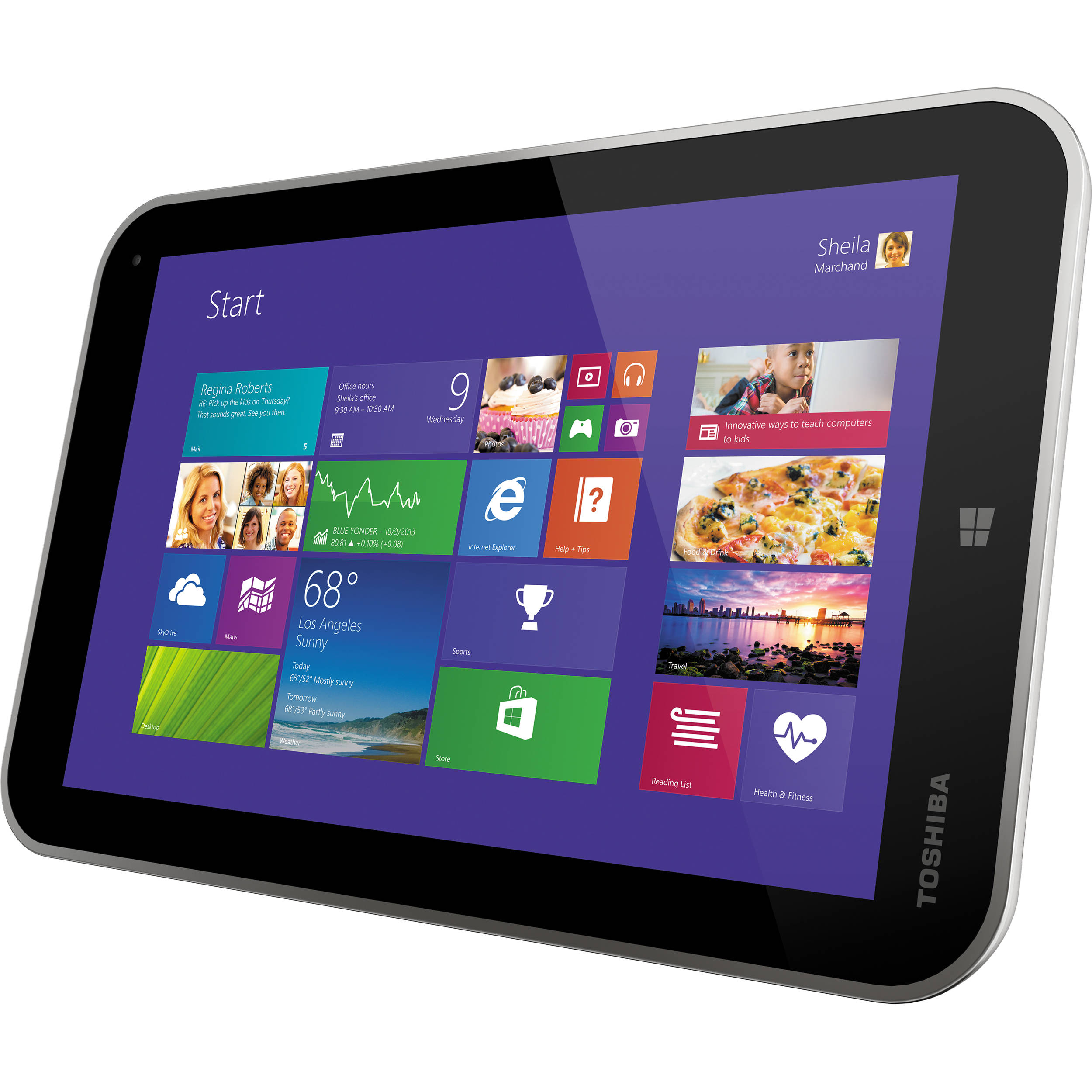 toshiba tablet windows 10