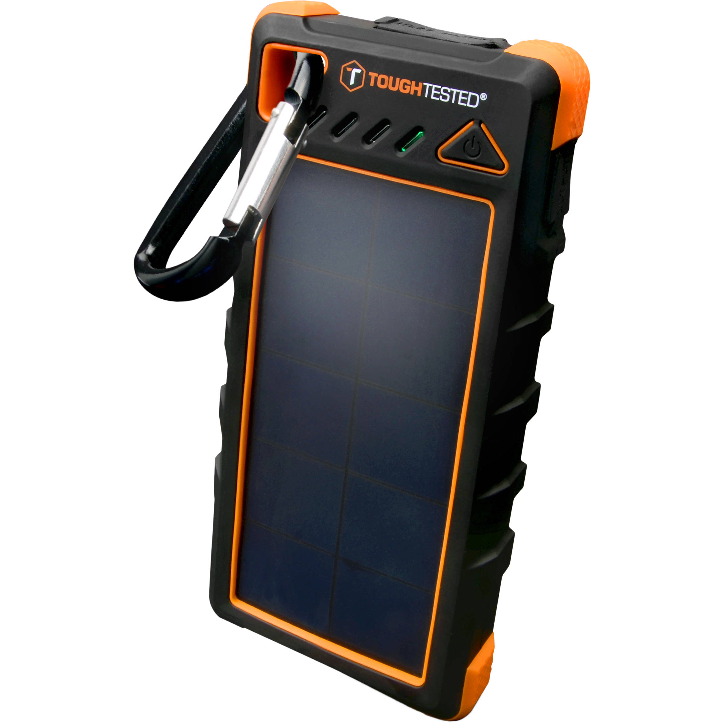 toughtested 16 000mah solar power bank tt pbw sw16 b h photo. Black Bedroom Furniture Sets. Home Design Ideas