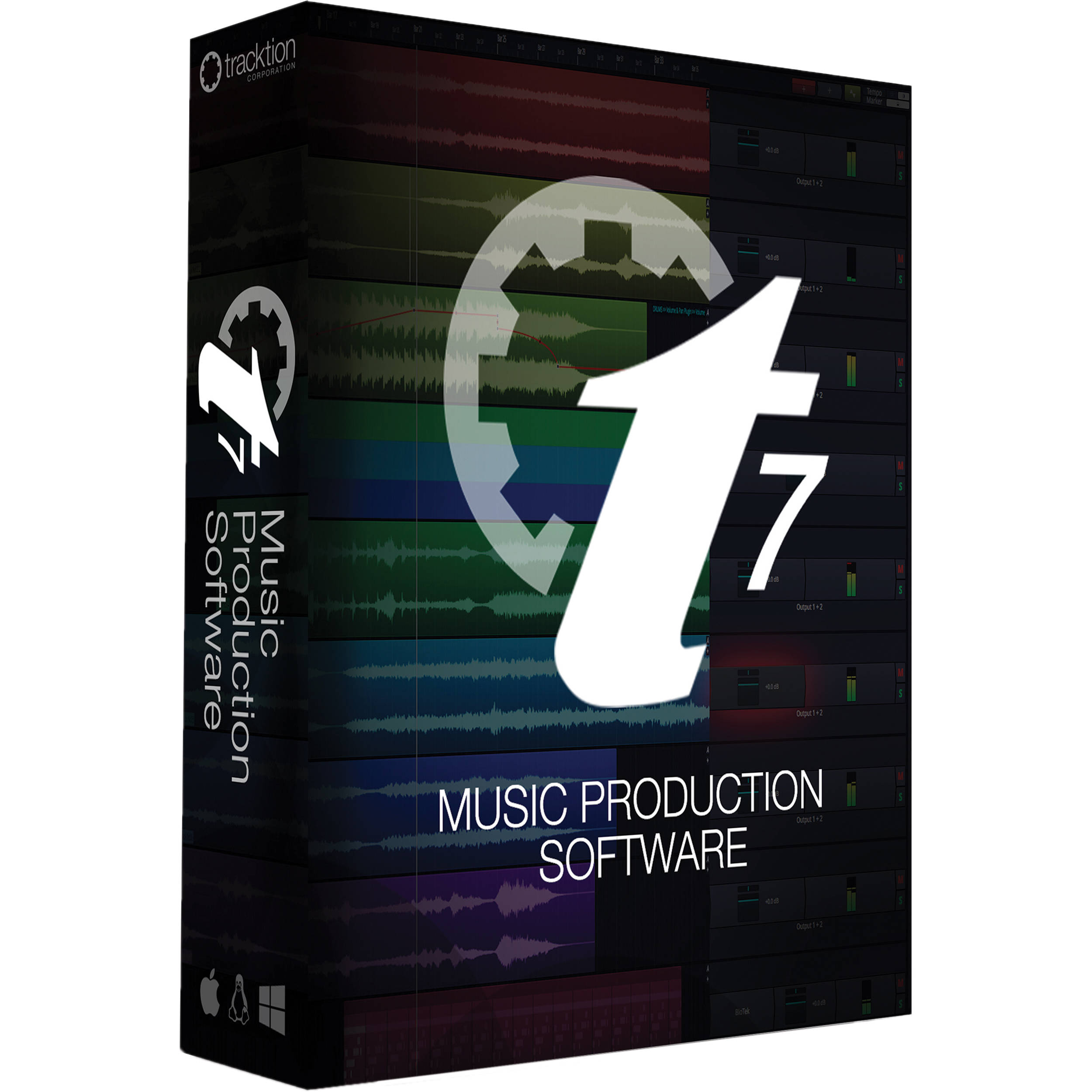 Tracktion t7 digital audio workstation is now free! Bedroom.