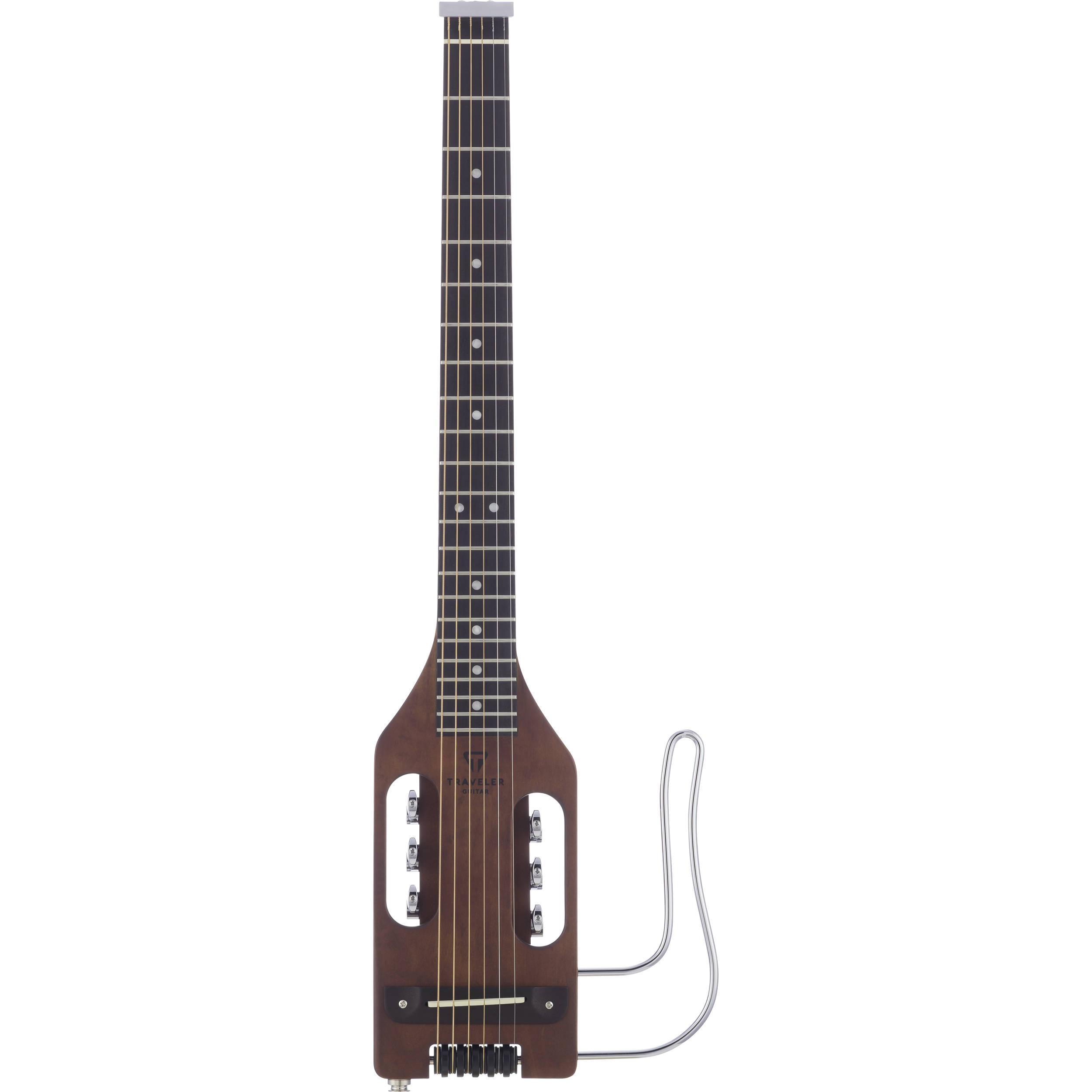 traveler guitar ultra light compact acoustic electric ulst brn. Black Bedroom Furniture Sets. Home Design Ideas