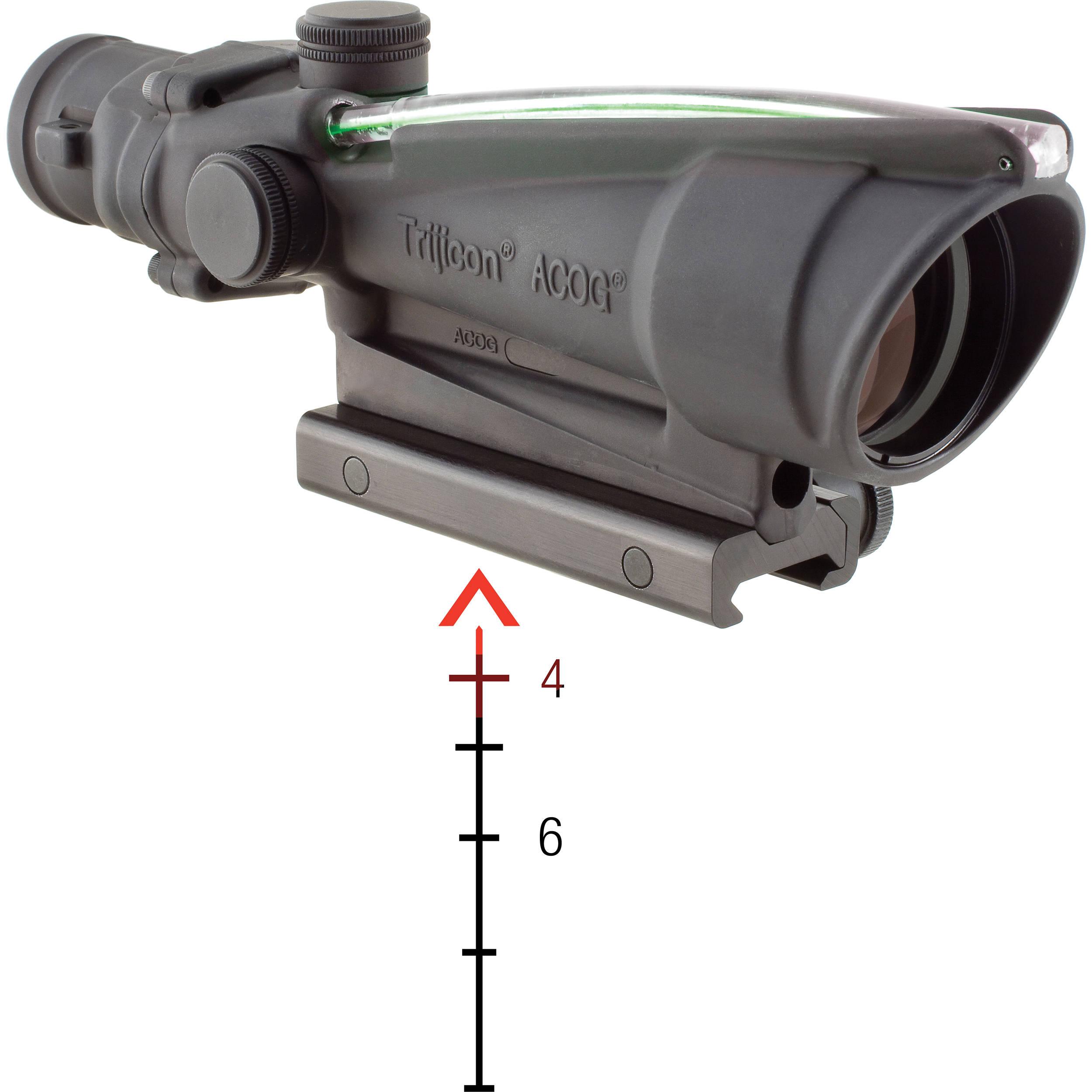 how to get acog scope od4