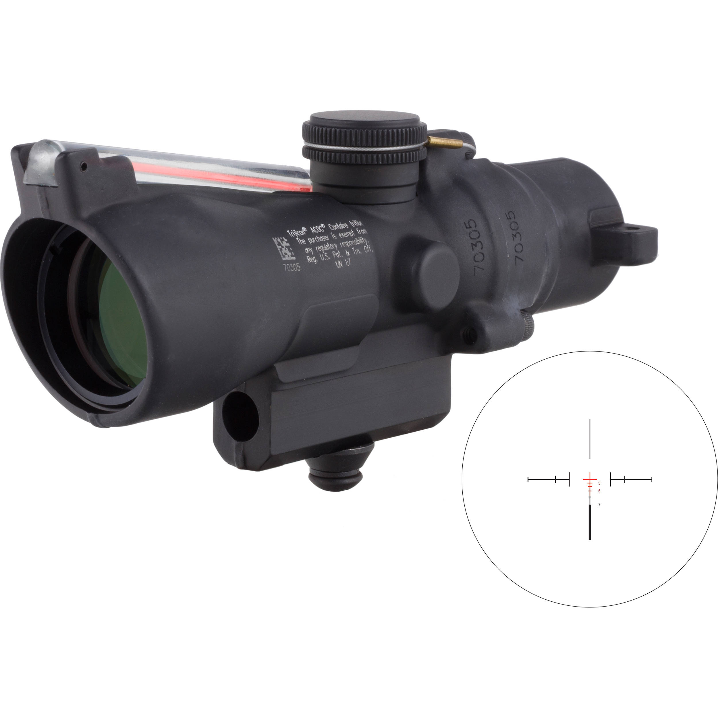 Trijicon 3x24 Compact ACOG Riflescope TA50-C-400223 B&H Photo M16 Acog