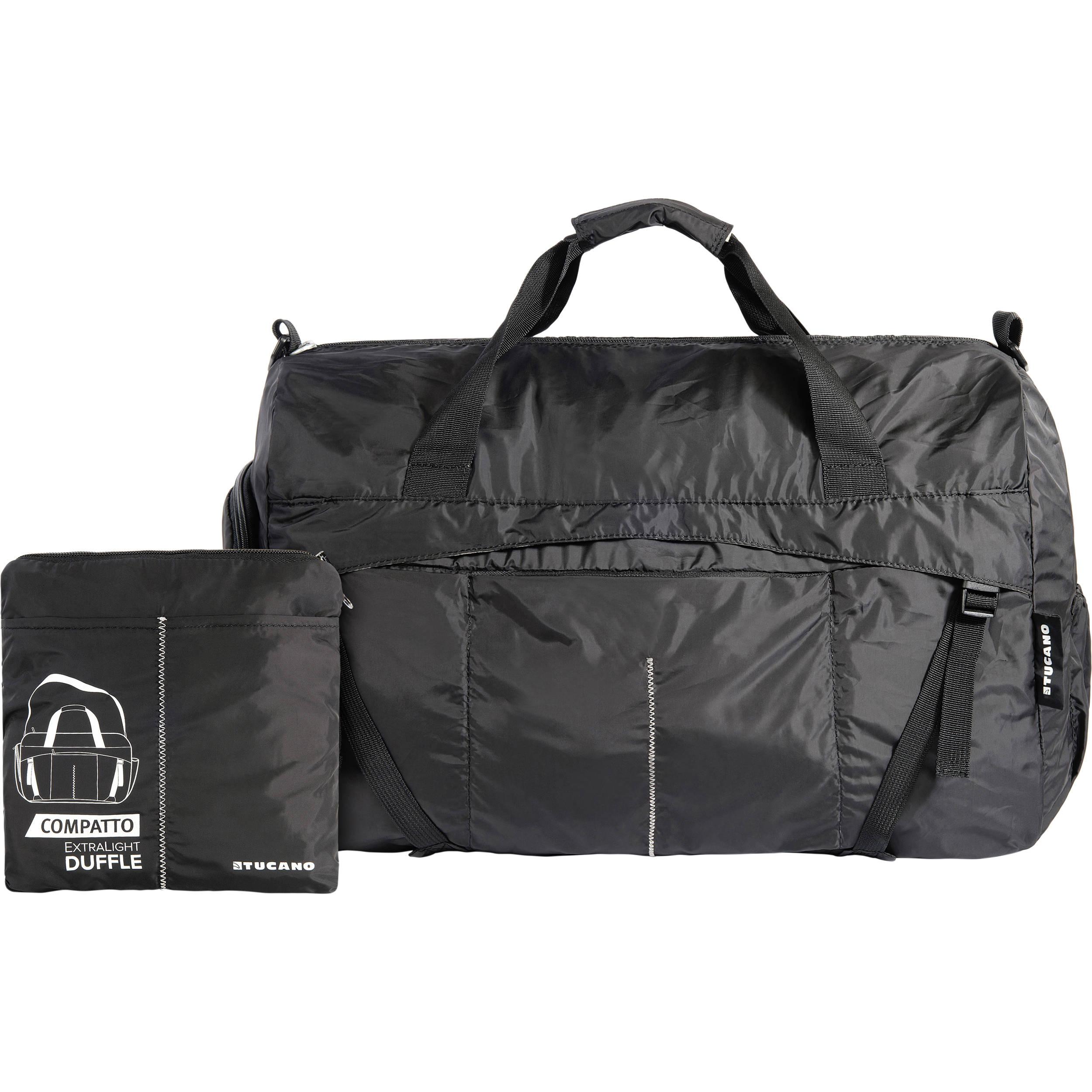 ecf10c29a02b Tucano Compatto XL Water-Resistant 50L Duffle Bag (Black) BPCOWE