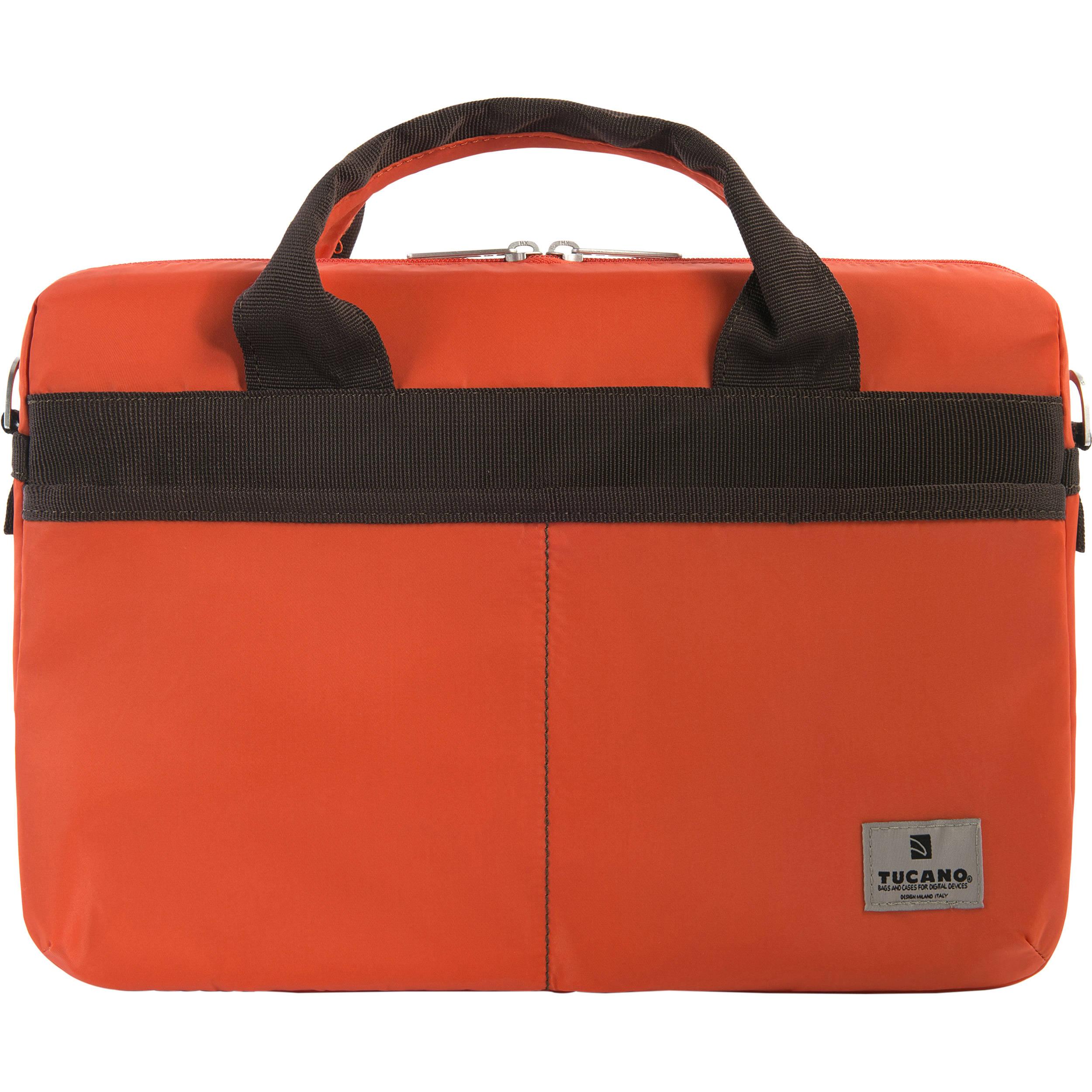 Tucano Shine Slim 13 Bag For Macbook Pro Or Notebook Orange