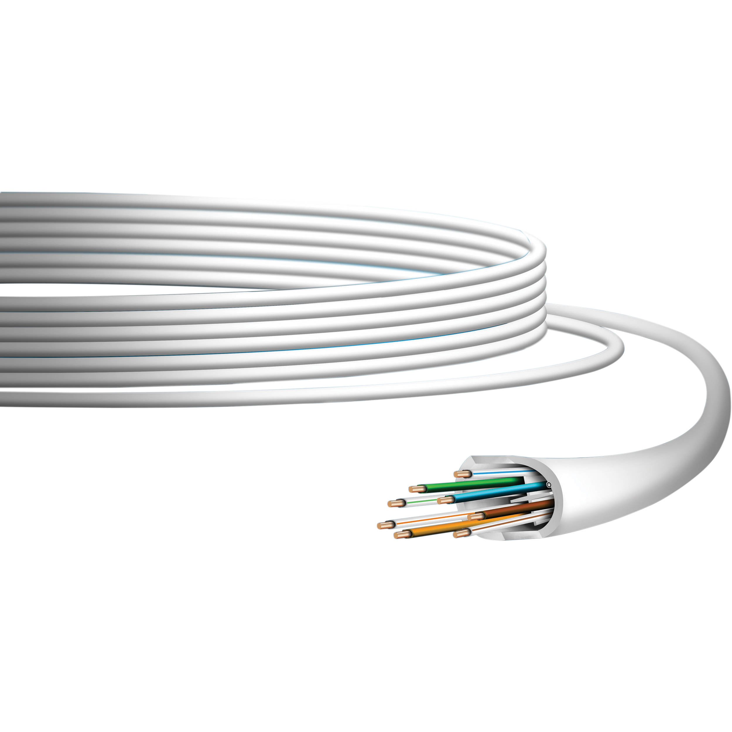 Ubiquiti Networks Unifi Category 6 Indoor Ethernet Uc C6 Cmr Bh Networking Wiring Cable 1000 White