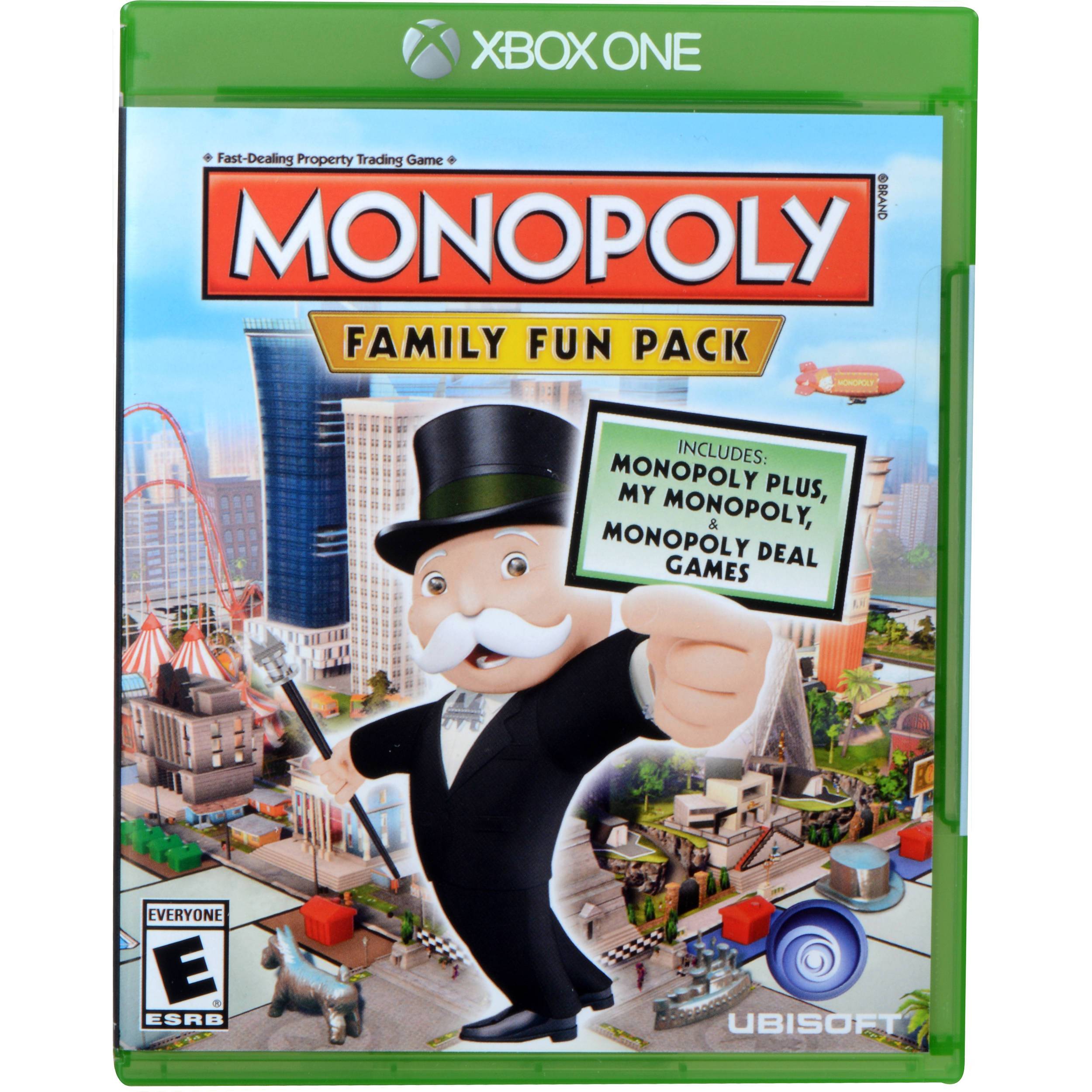 Monopoly Game For Xbox 1 : Ubisoft monopoly family fun pack xbox one ubp b h