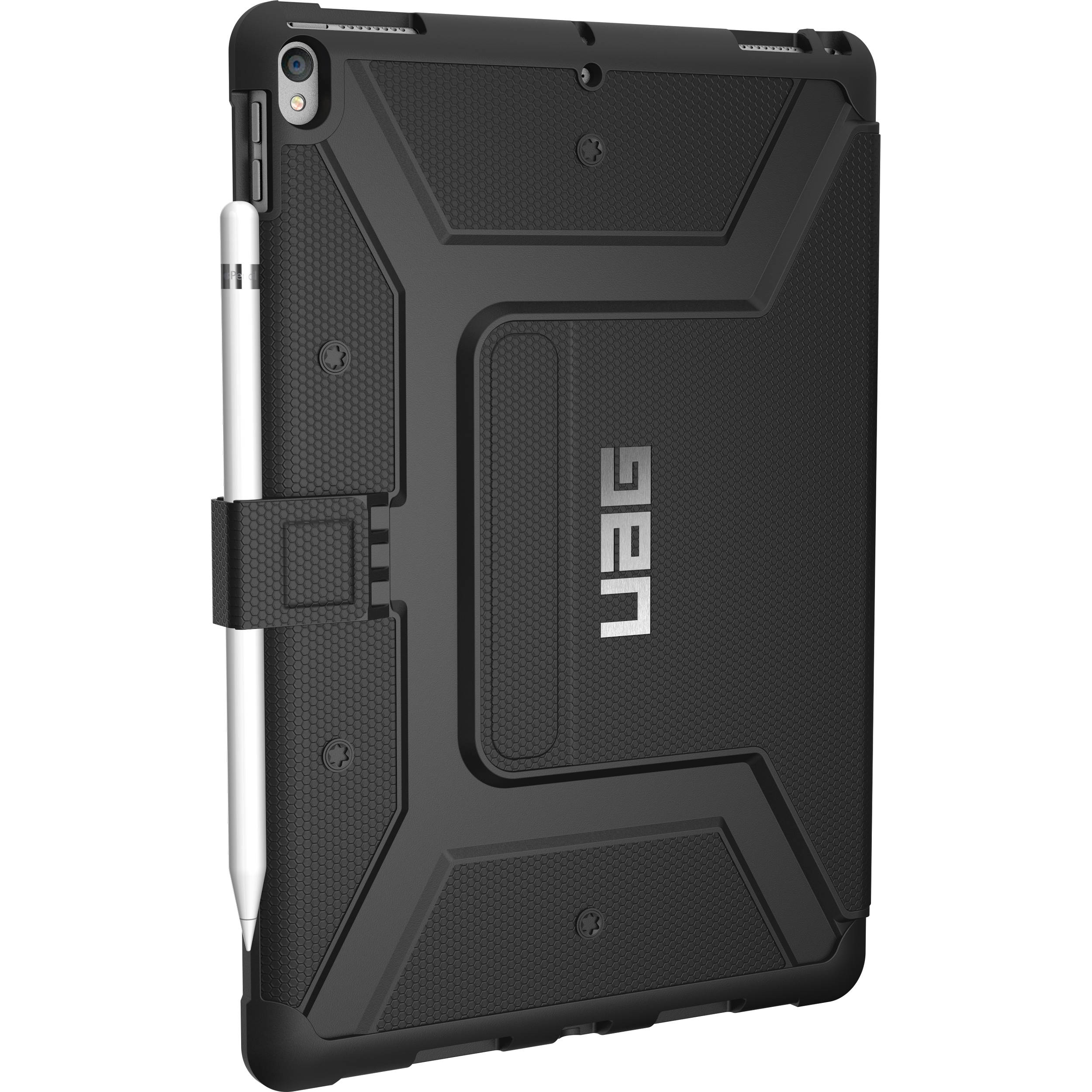 512333574 Urban Armor Gear Metropolis Case for iPad Pro IPDP10.5-E-BK B&H