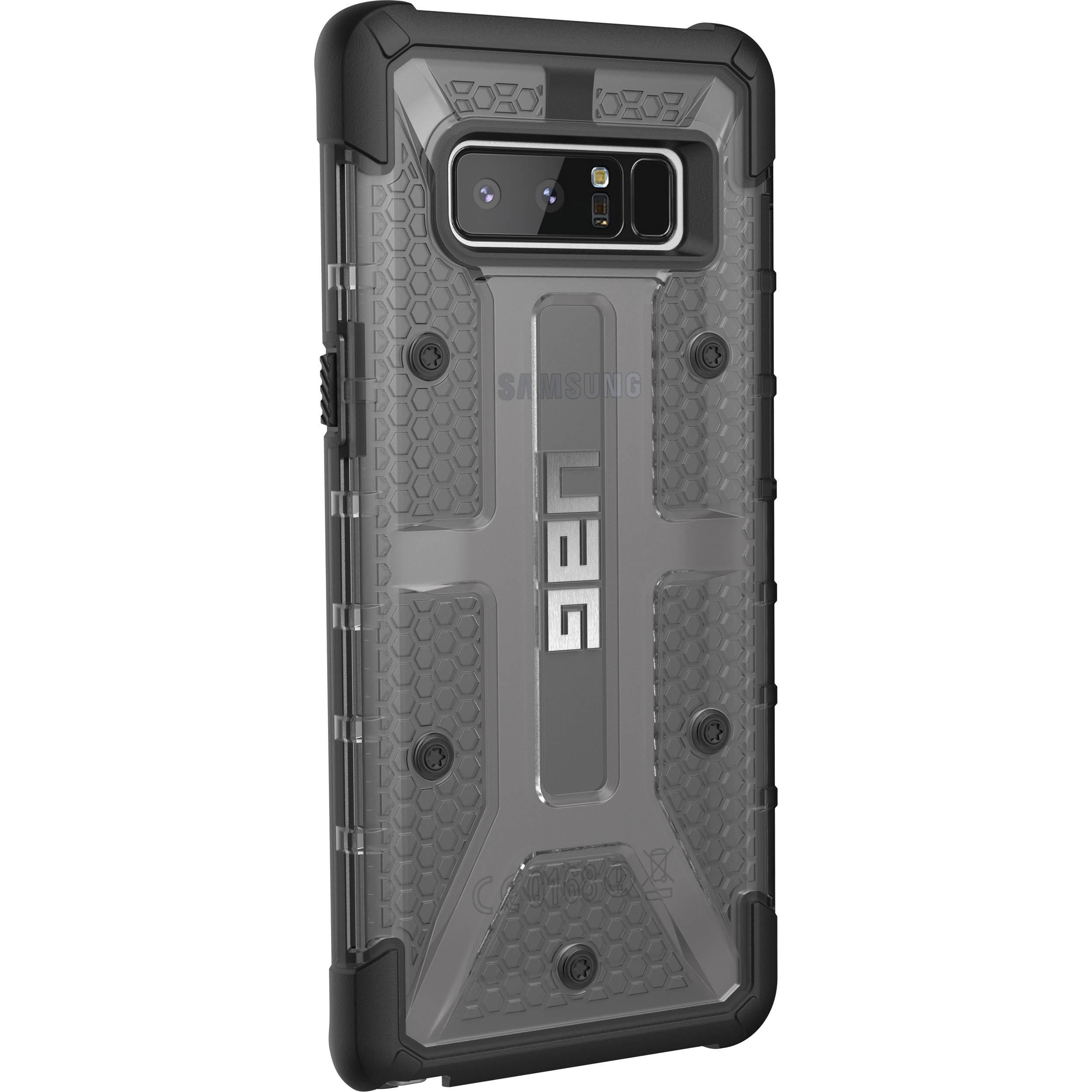 5c420609d Urban Armor Gear Plasma Case for Galaxy Note 8 (Ash) NOTE8-L-AS