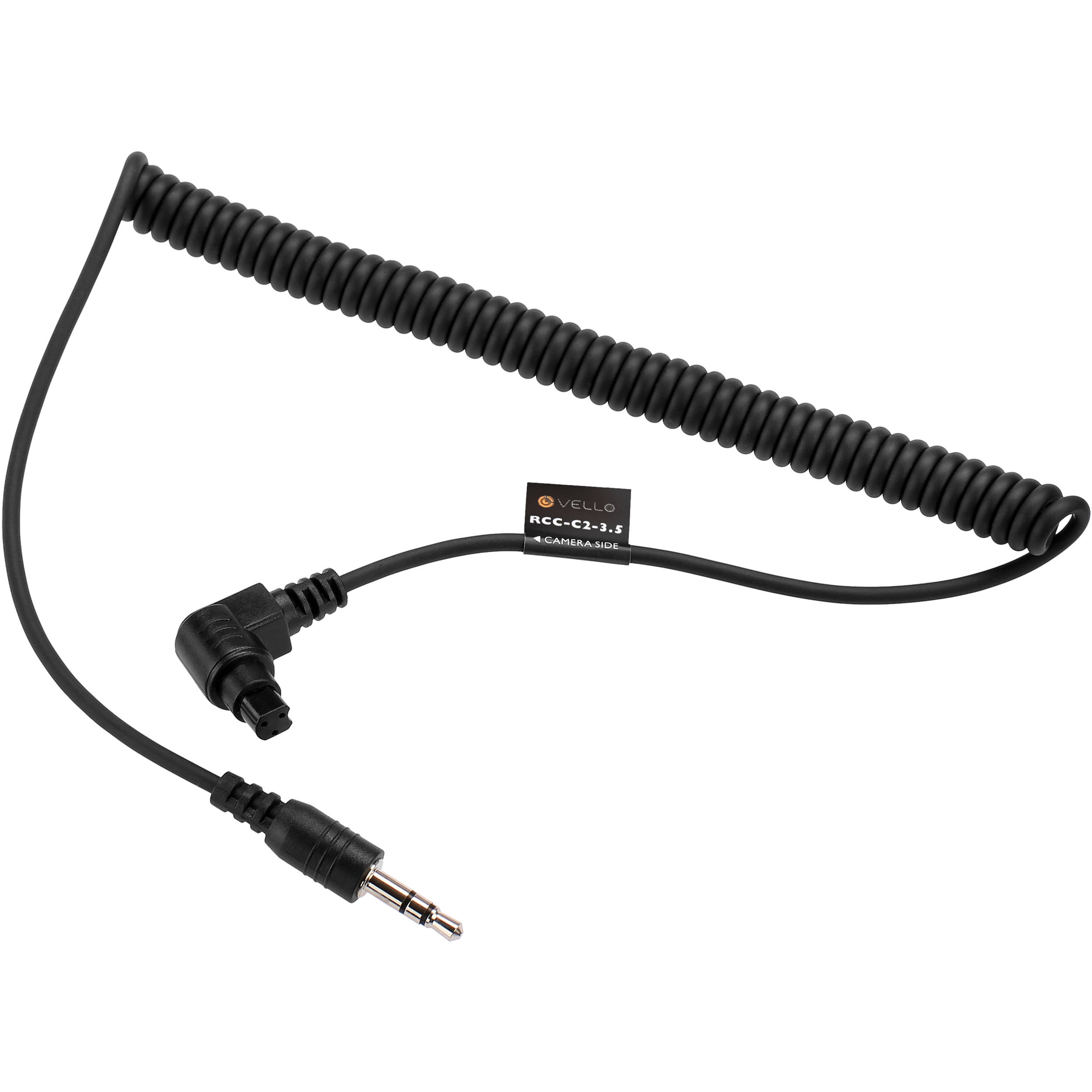 vello 3 5mm remote shutter release cable for canon rcc