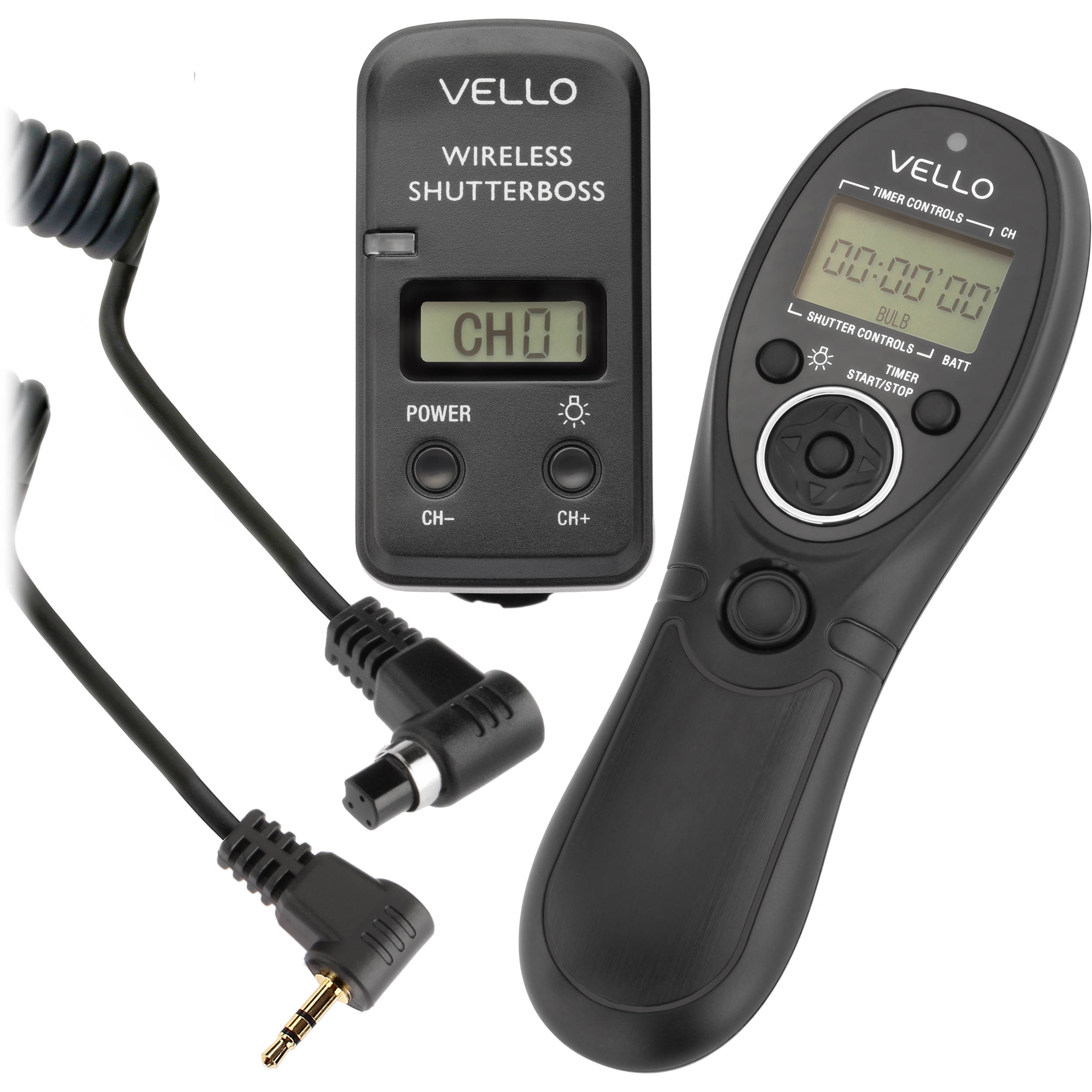 Vello Wireless Shutterboss Iii Remote Switch Rcw 3 C Bh Photo Simple Rf Transmitter Circuit Simplest Fm X3cbx3etransmitterx3c B With Digital Timer For Select Canon Cameras