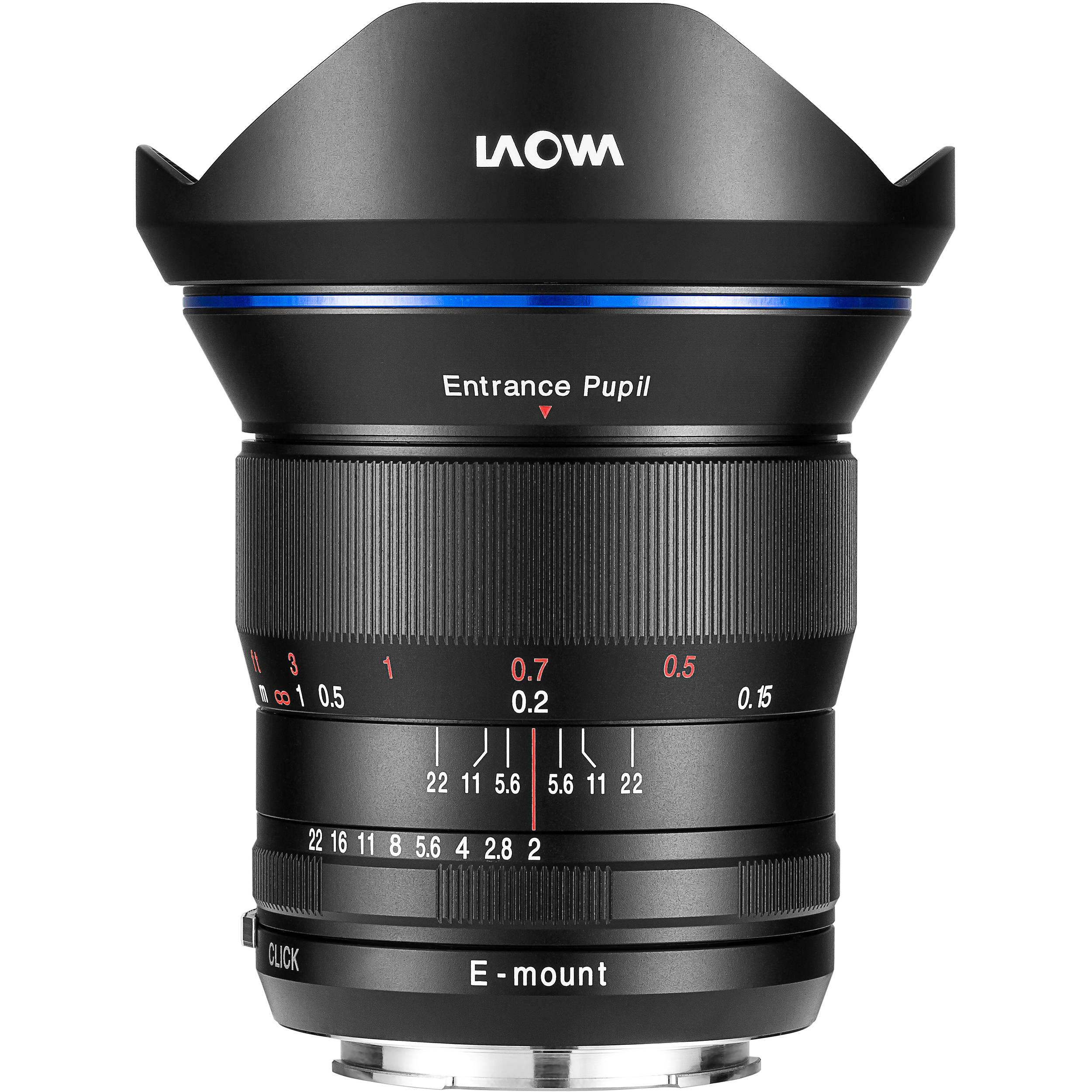 Venus Optics Laowa 15mm f 2 FE Zero D Lens for Sony E