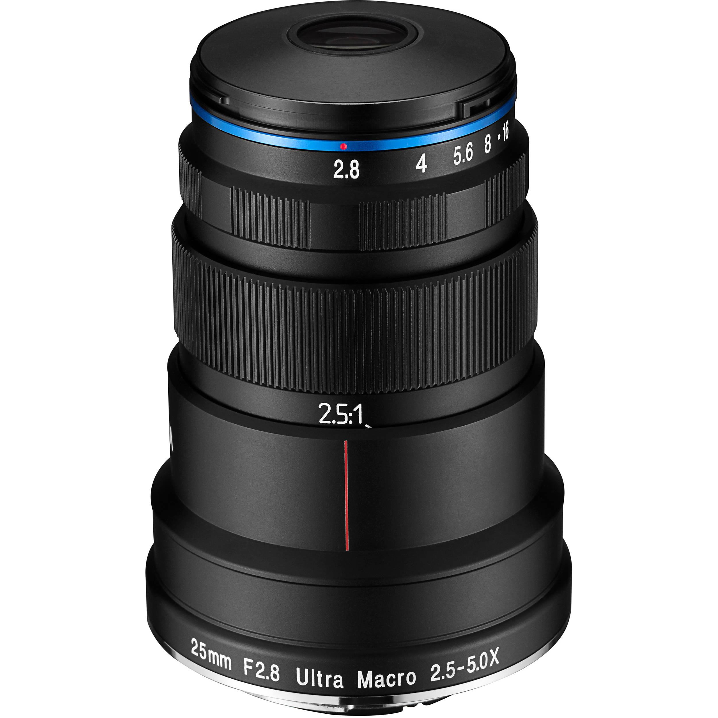 venus optics laowa 25mm f 2 8 2 5 5x ultra macro lens ve2528sfe rh bhphotovideo com