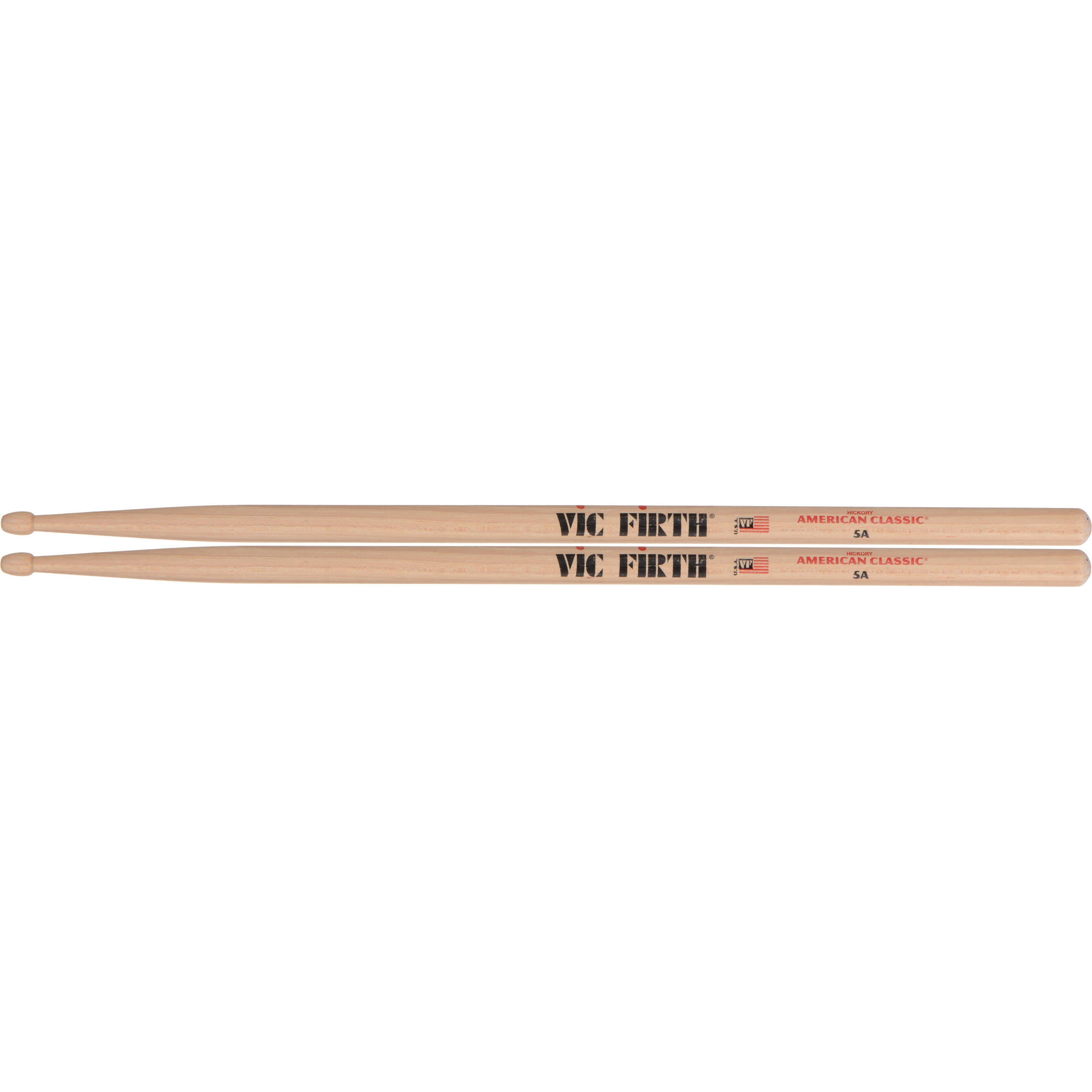vic firth american classic hickory drumsticks 5a 5a b h photo. Black Bedroom Furniture Sets. Home Design Ideas