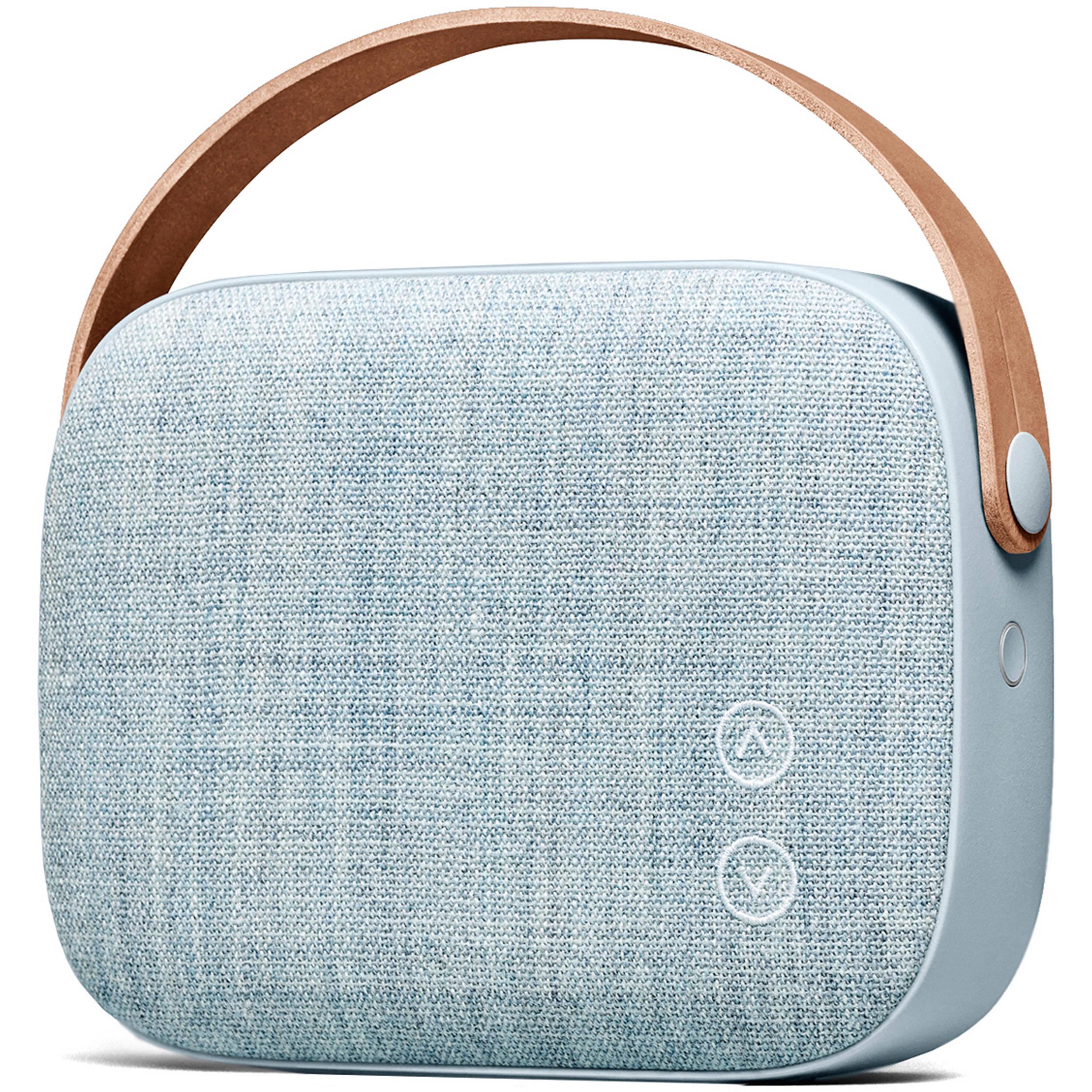 vifa helsinki bluetooth portable speaker helsi msblue b h. Black Bedroom Furniture Sets. Home Design Ideas