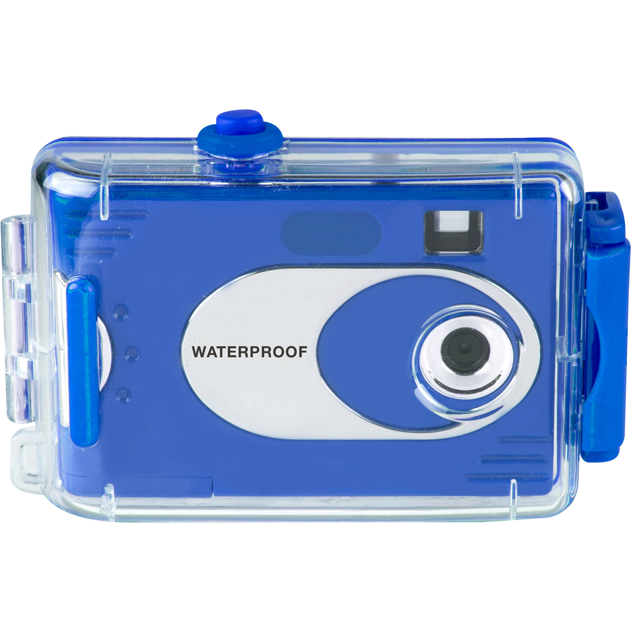 Vivitar AquaShot Underwater Digital Camera 26690-BLUE-KM B&H