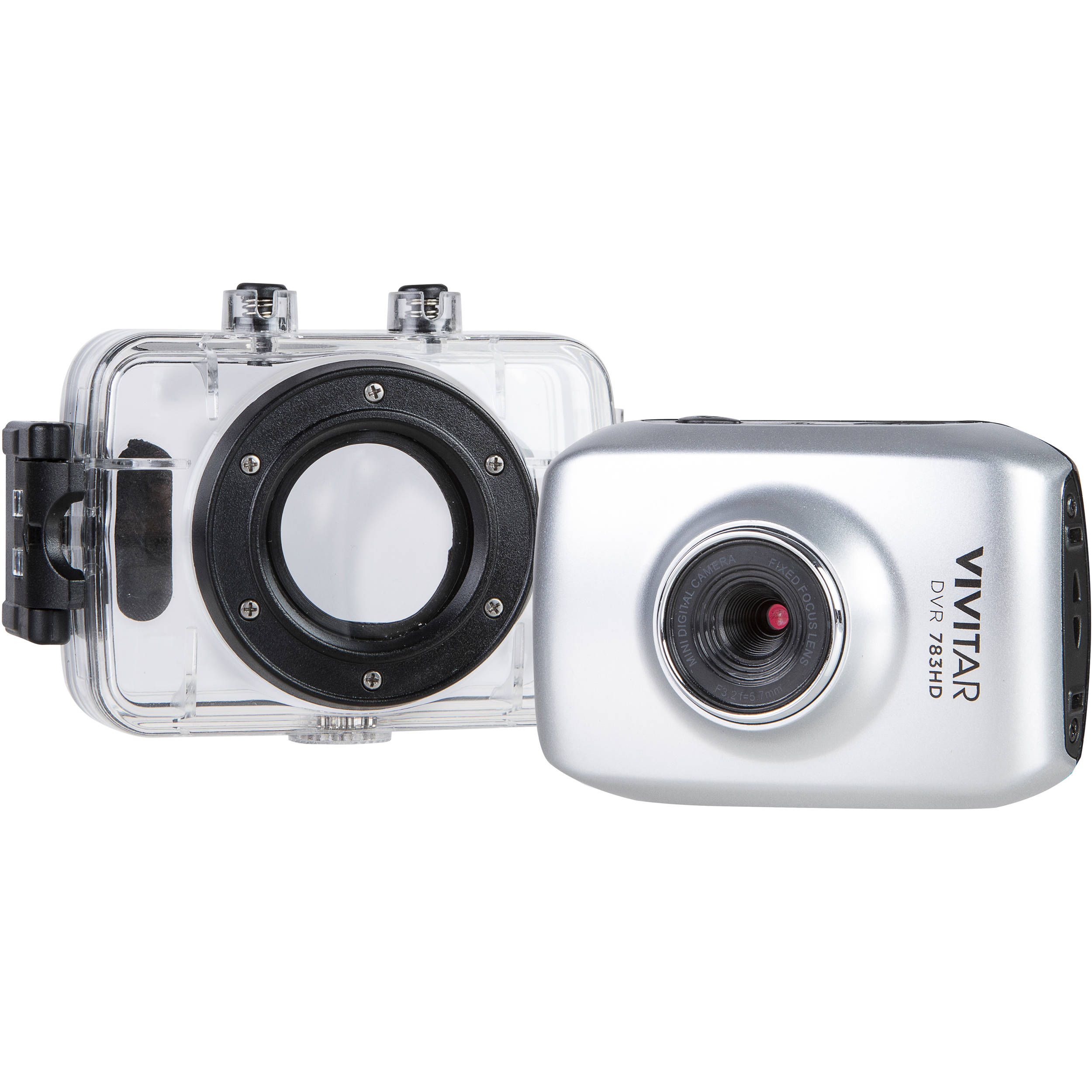 Camera Vivitar Action Cam vivitar dvr 783hd action camera silver 783 sil bh photo silver