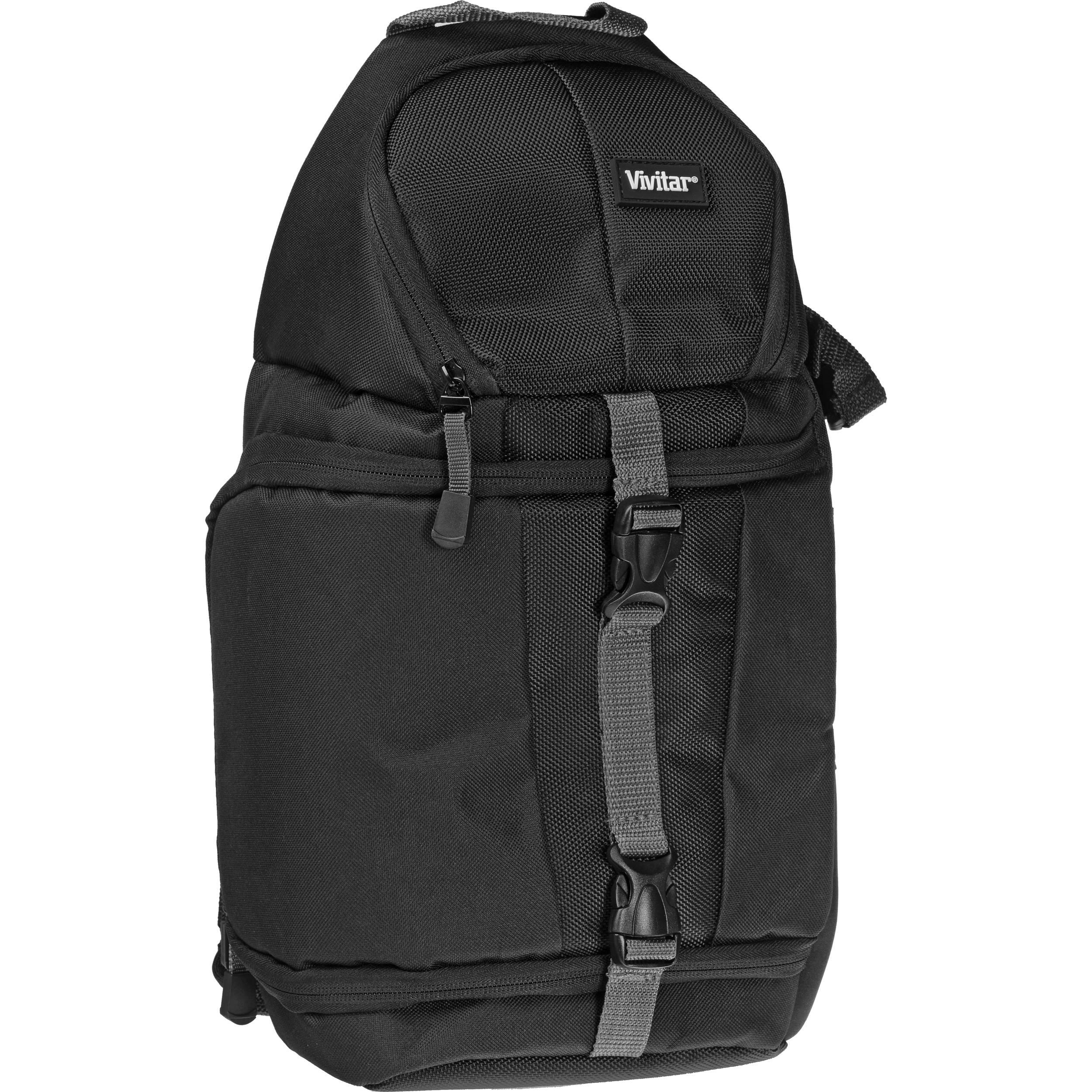 Vivitar DKS-15 Sling Backpack for DSLR System (Black) 8c3adf5891179