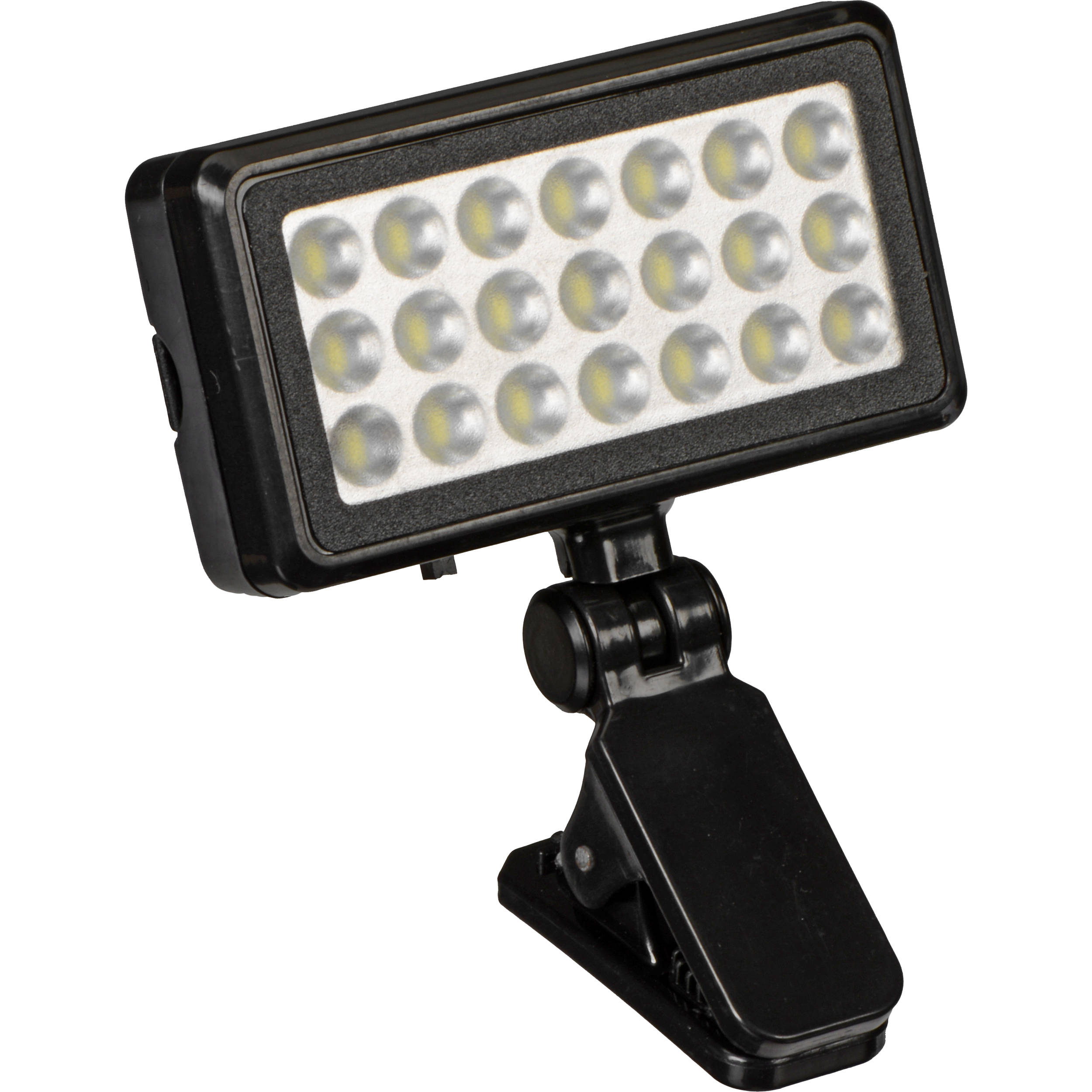 vivitar universal clip on led light viv sp 412 b h photo video. Black Bedroom Furniture Sets. Home Design Ideas