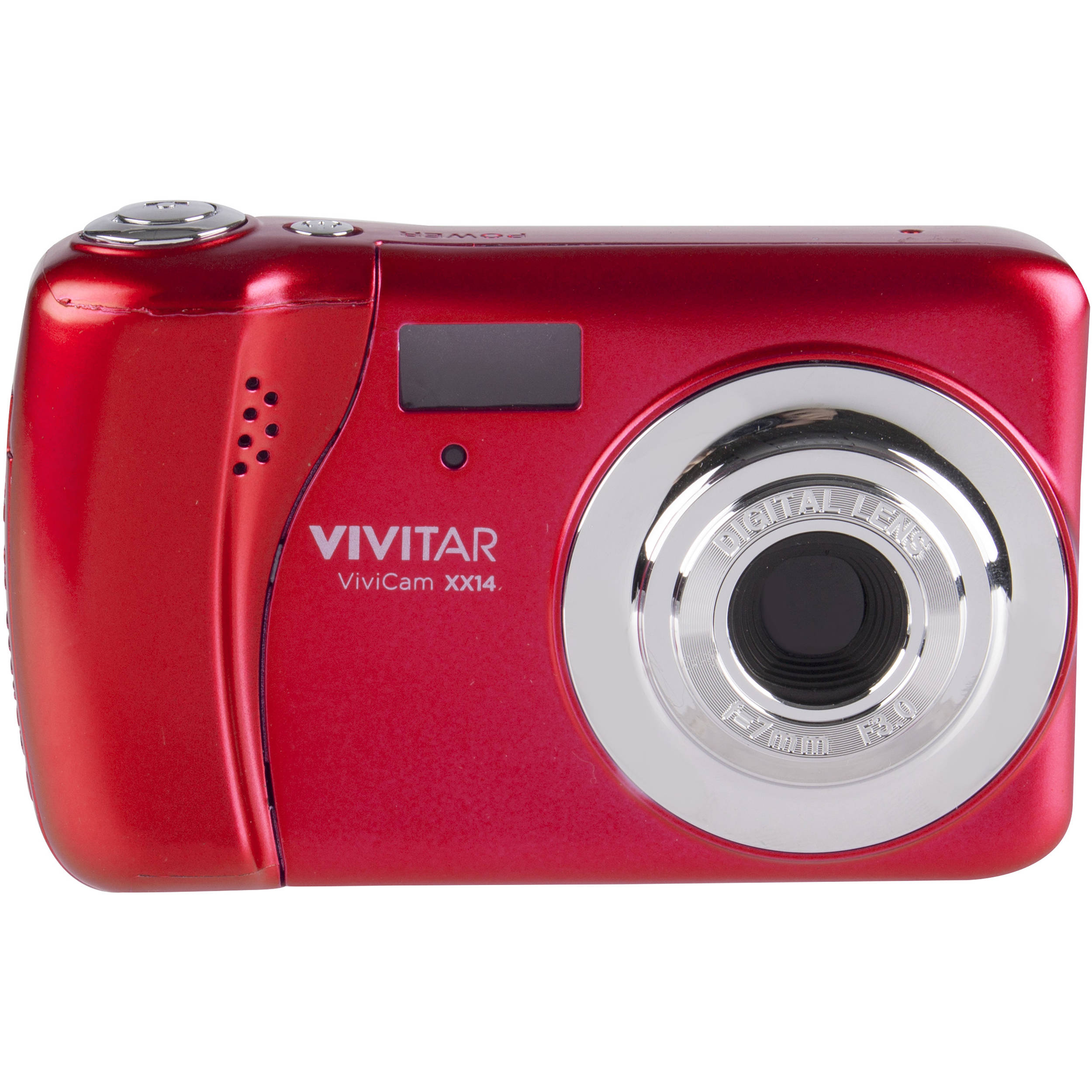 Vivitar Vivicam Xx14 Digital Camera Red Vxx14 Wm Bh Photo And Screen On Disposable Flash Circuit Schematic