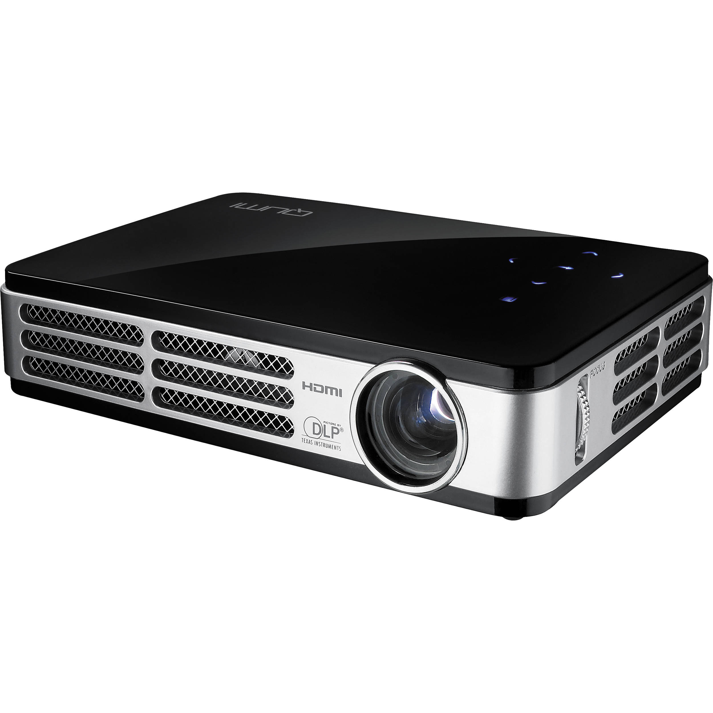 Vivitek qumi q2 pocket projector black q2 b b h photo video for Best hd pocket projector